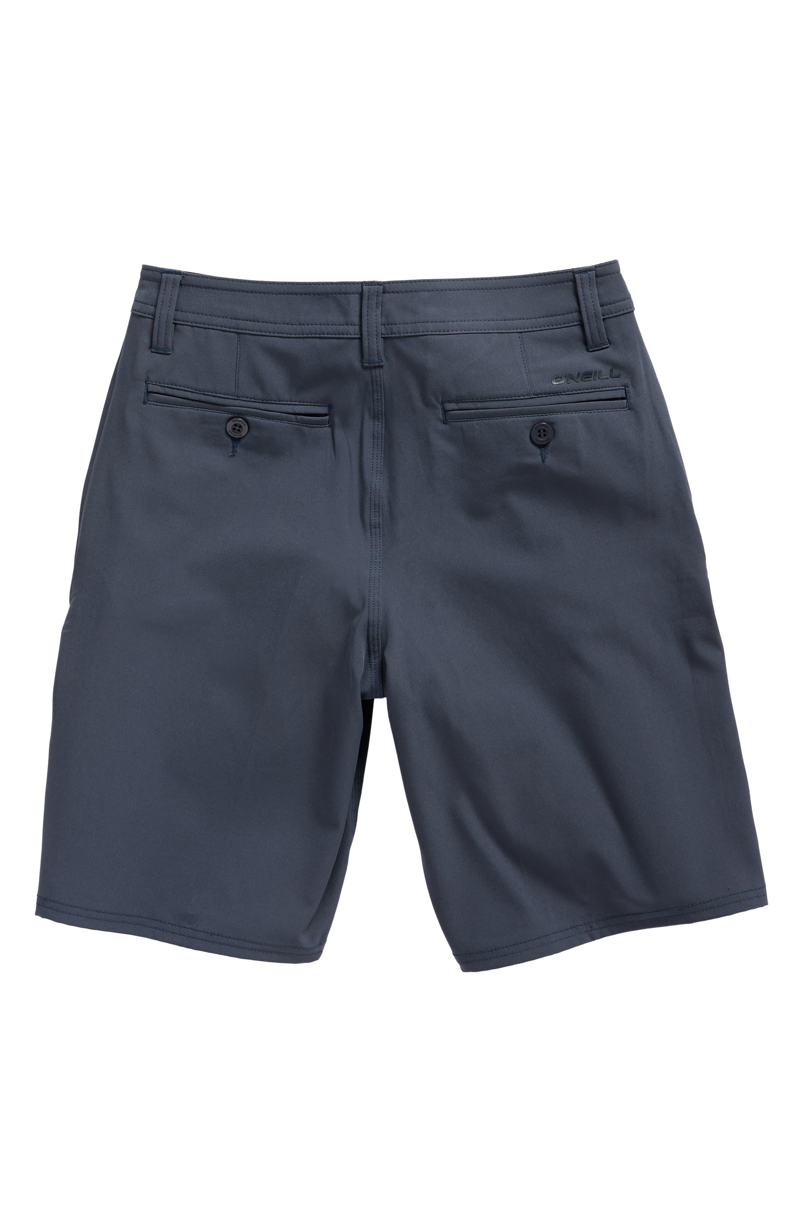 Loaded Hybrid Board Shorts,                             Alternate thumbnail 2, color,                             Slate