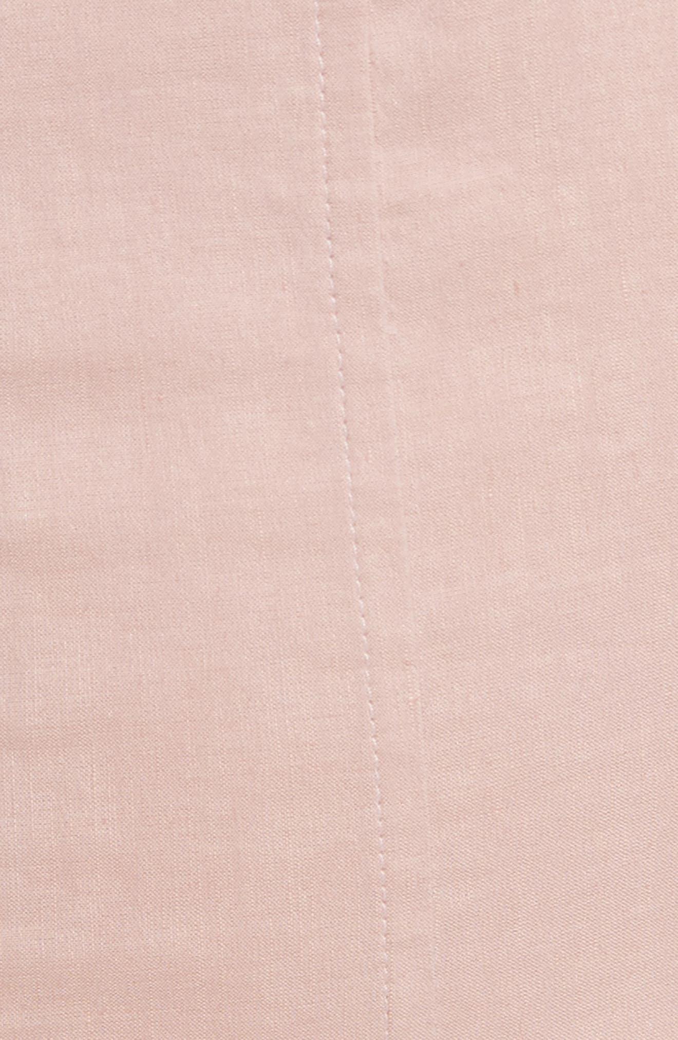 Modern Tea Dress,                             Alternate thumbnail 5, color,                             Pink Ballet
