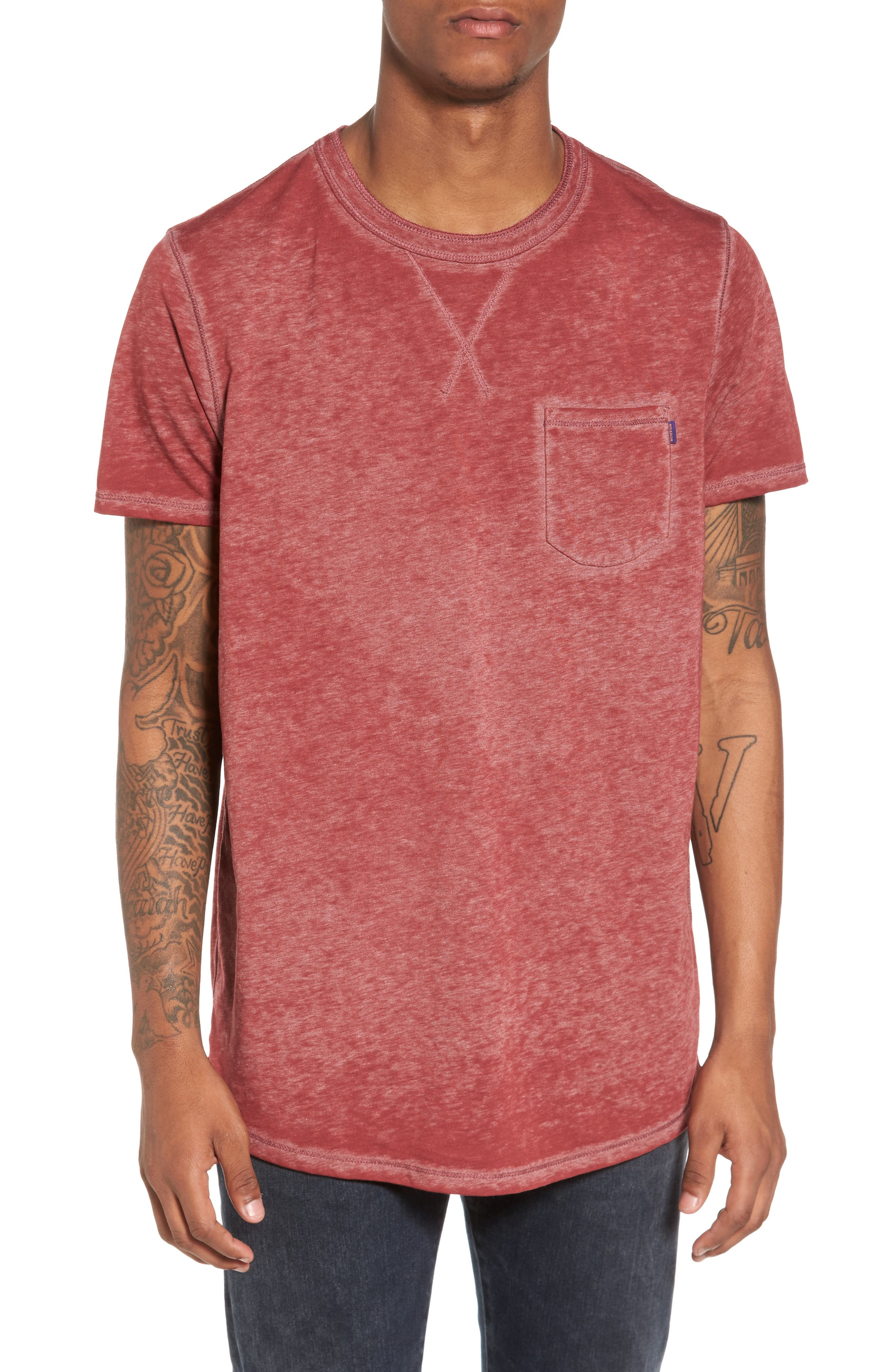 Main Image - Scotch & Soda Pocket T-Shirt