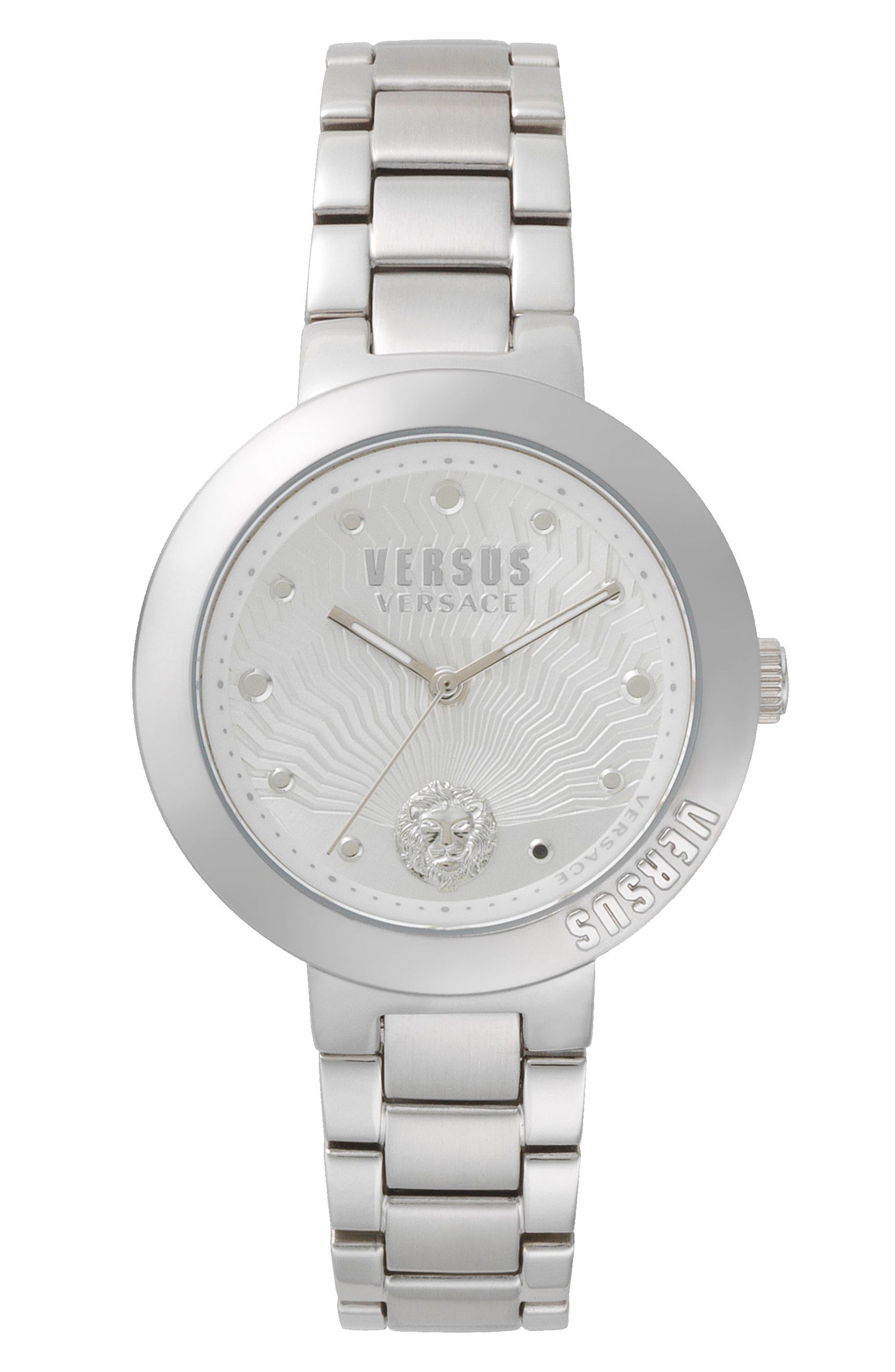 VERSUS by Versace Lantau Island Bracelet Watch, 36mm,                         Main,                         color, Silver