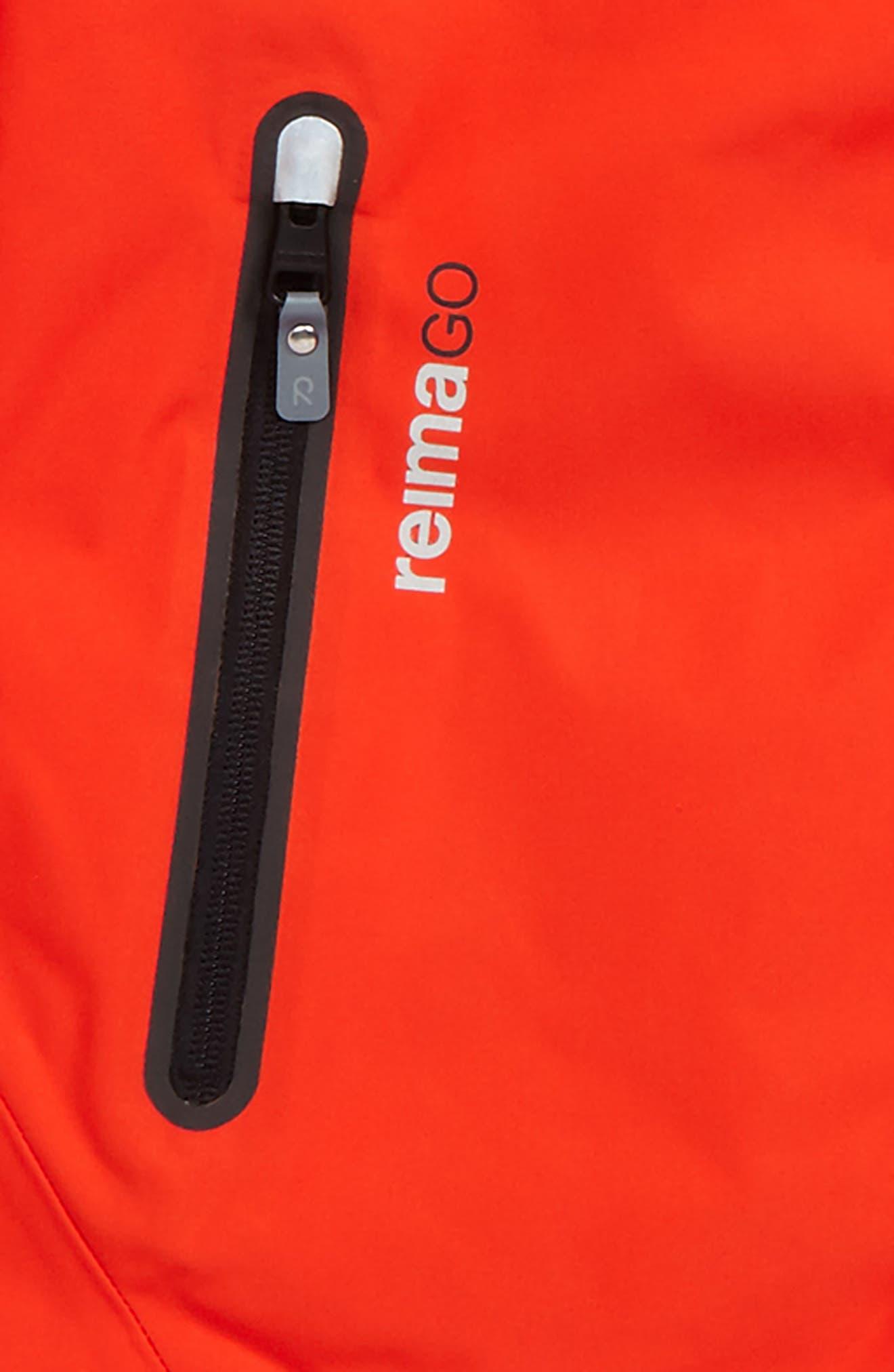 Alternate Image 2  - Reima Reimatec® Wheeler Waterproof Hooded Jacket (Big Boys)