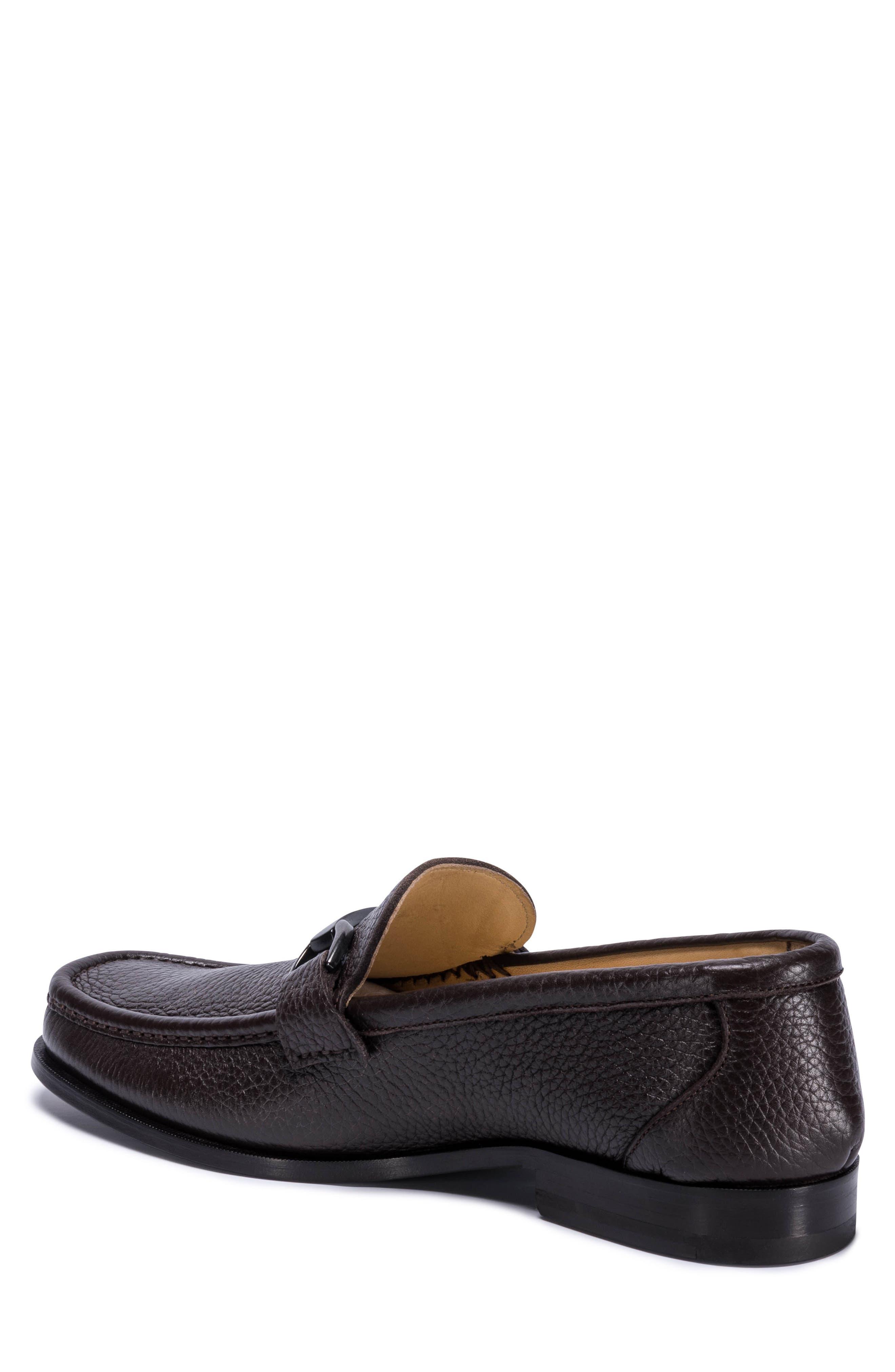 Padua Bit Loafer,                             Alternate thumbnail 2, color,                             Brown Leather