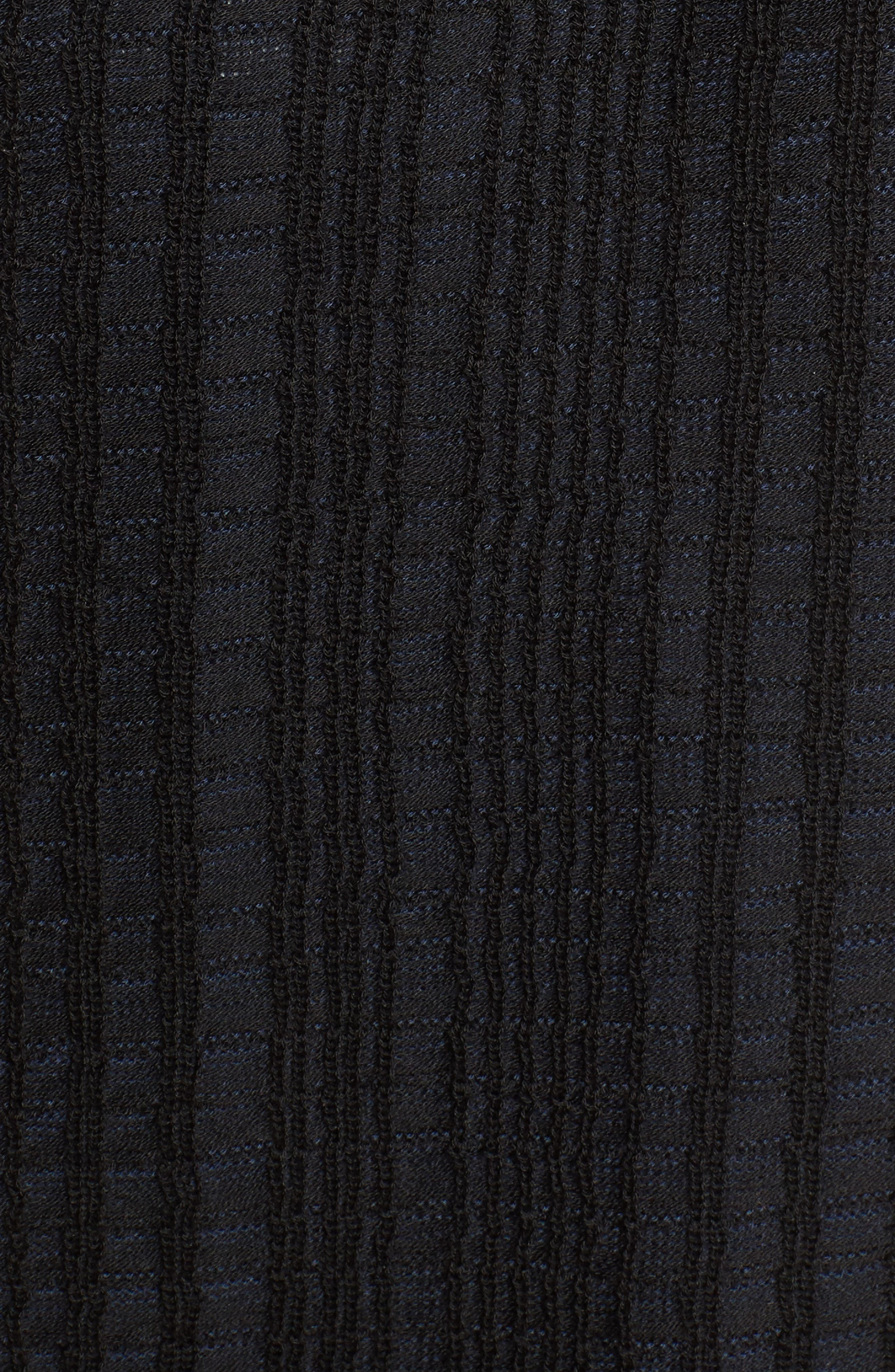 Tencel<sup>®</sup> Jacquard Jacket,                             Alternate thumbnail 5, color,                             Midnight
