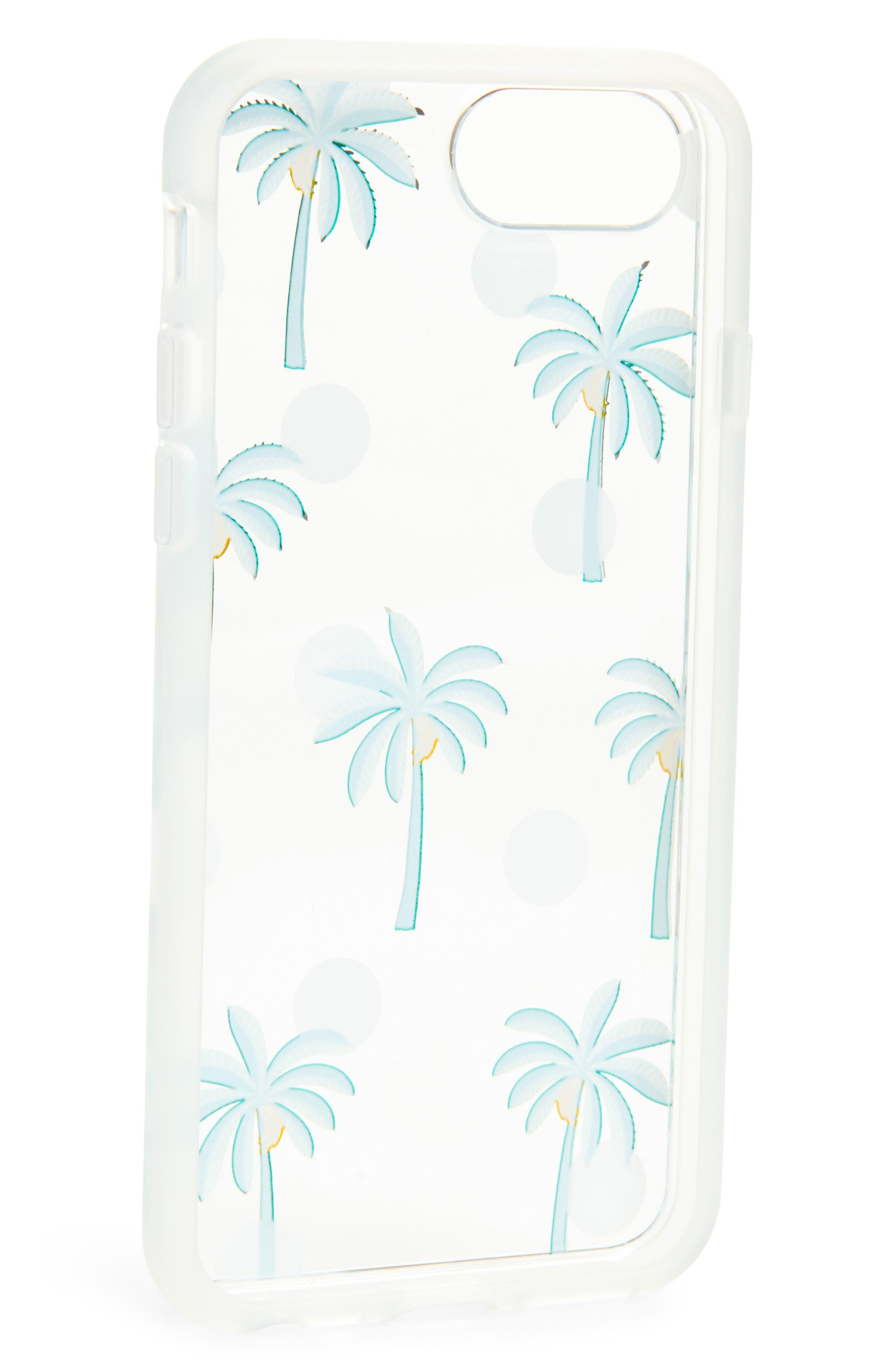 Bora Bora iPhone 6/6s/7/8 & 6/6s/7/8 Plus Case,                             Alternate thumbnail 2, color,                             Green/ White