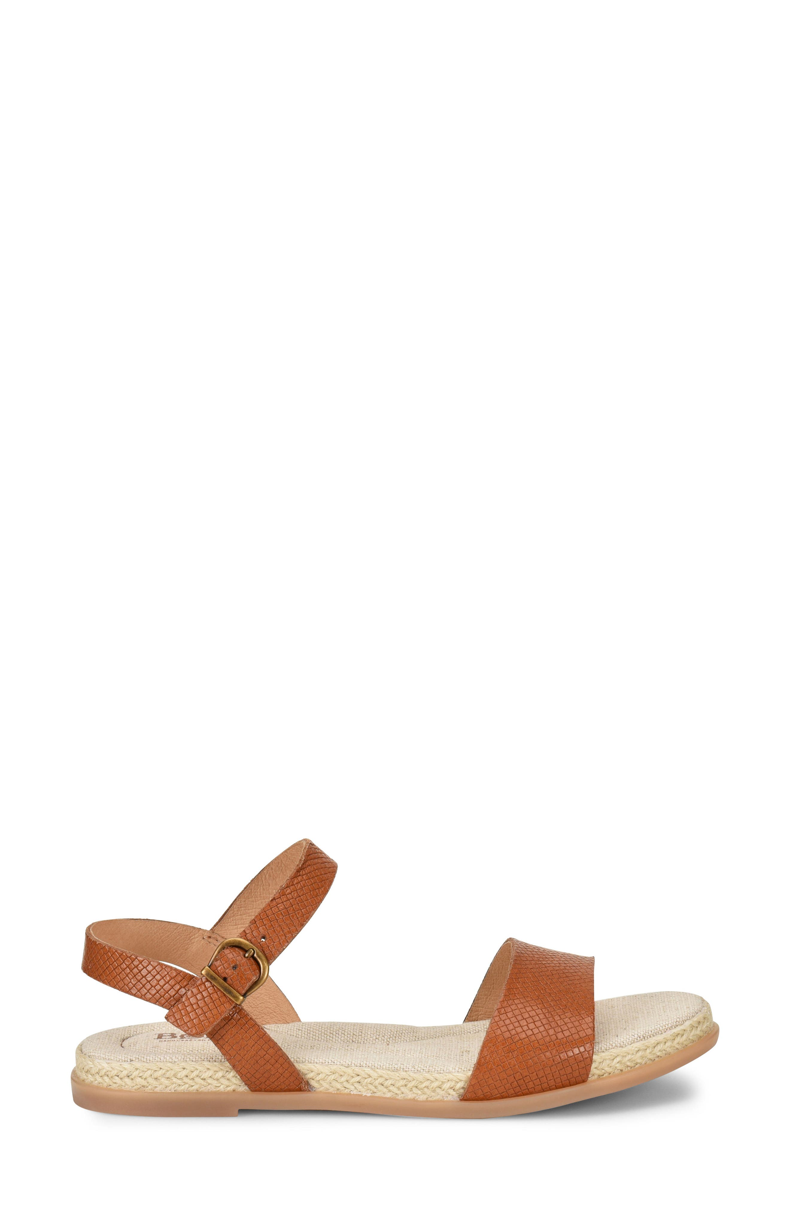 Welch Sandal,                             Alternate thumbnail 3, color,                             Brown Leather