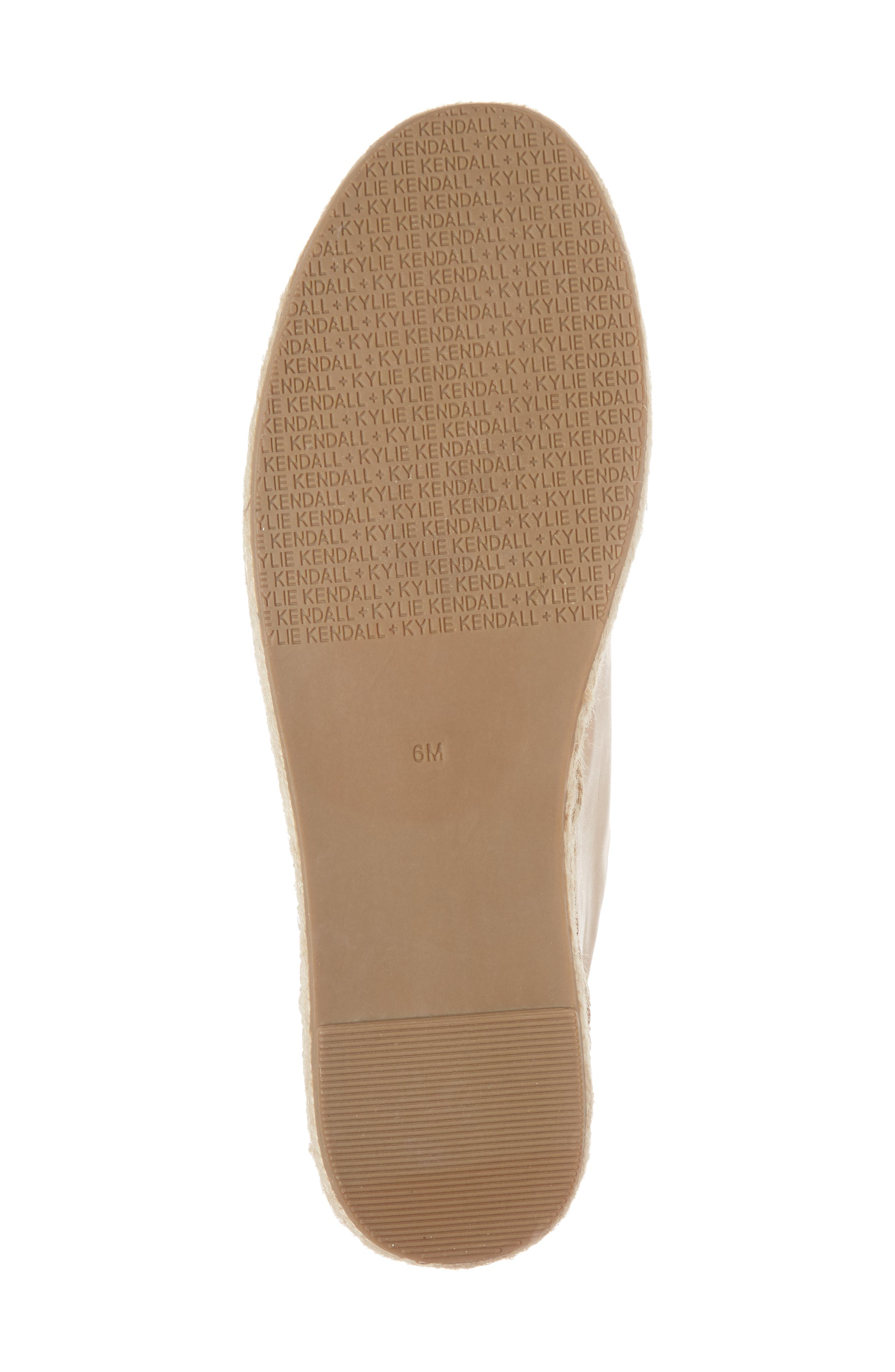 Juniper Espadrille Sneaker,                             Alternate thumbnail 6, color,                             Light Latte