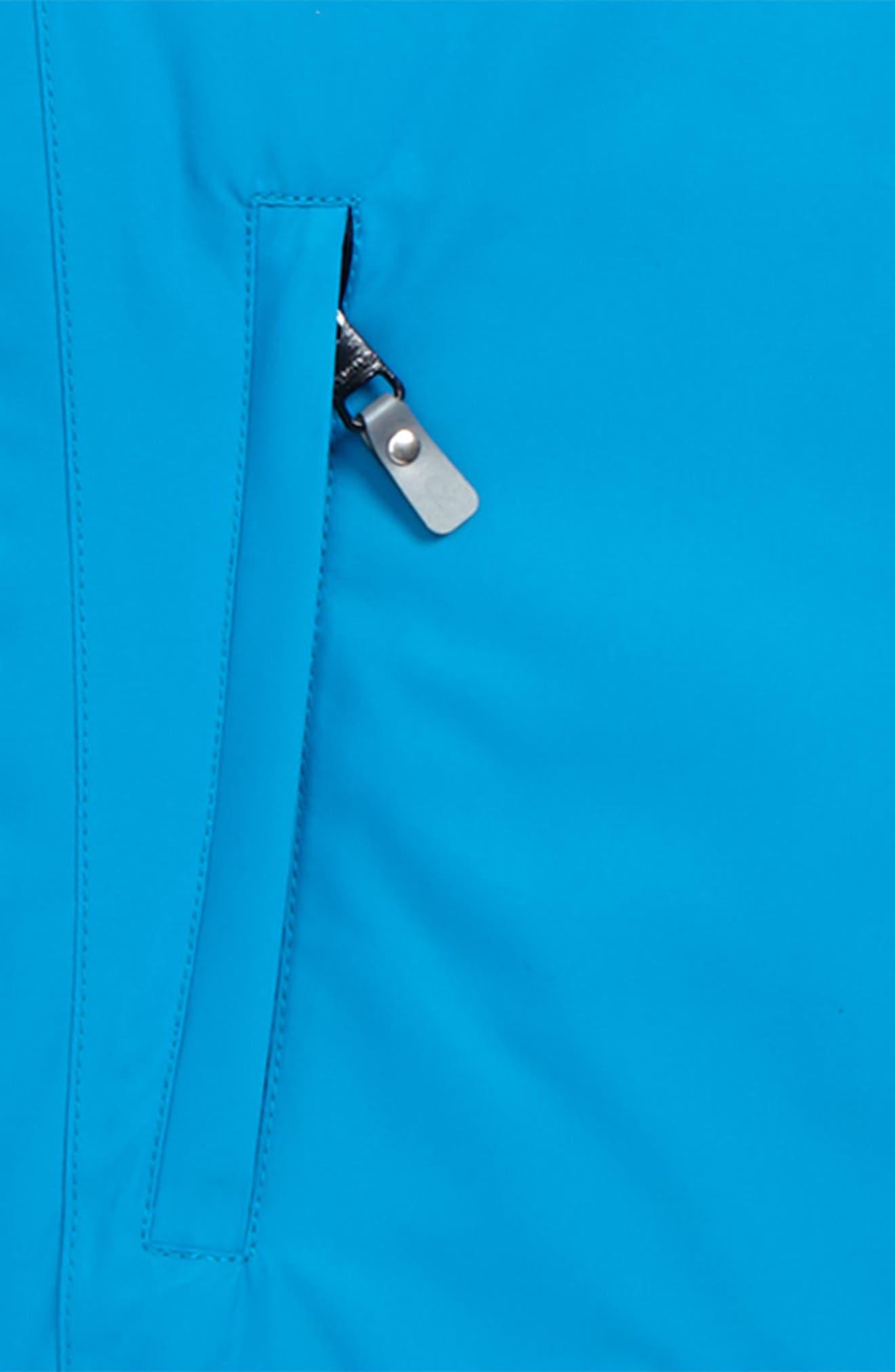 Reimatec<sup>®</sup> Detour Waterproof Hooded Jacket,                             Alternate thumbnail 2, color,                             Blue