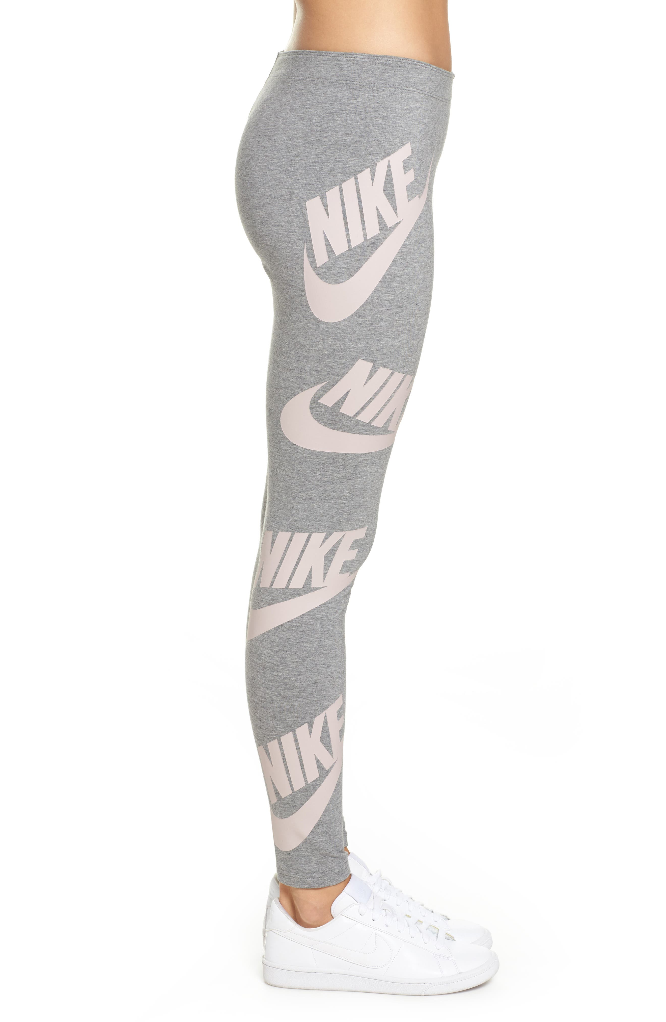 Alternate Image 3  - Nike Sportswear Graphic Leggings