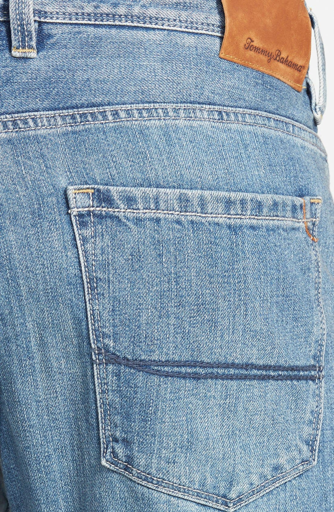 Alternate Image 2  - Tommy Bahama Denim 'Stevie' Standard Fit Jeans (Beach)