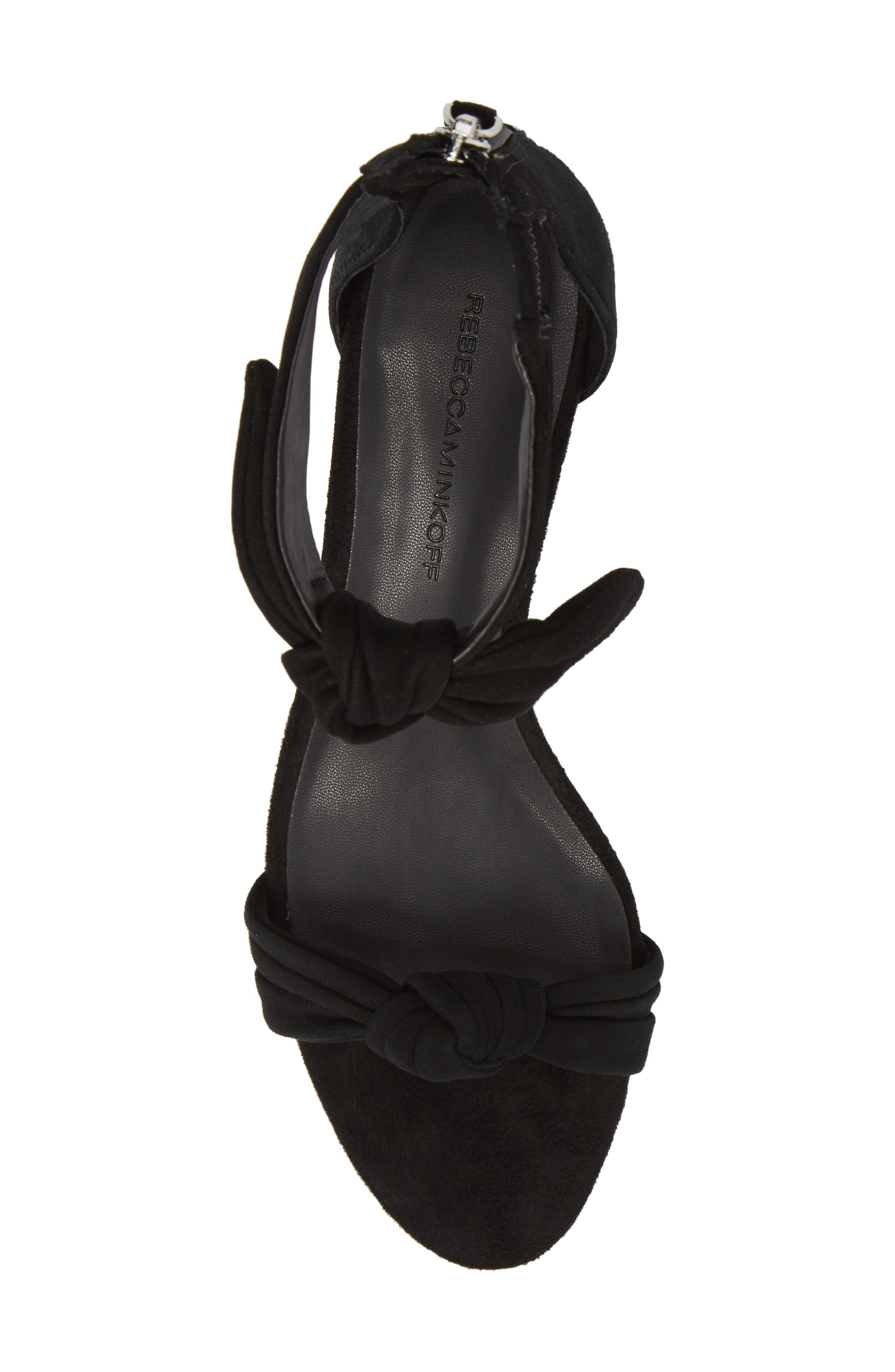 Alternate Image 5  - Rebecca Minkoff Kaley Knotted Kitten Heel Sandal (Women)