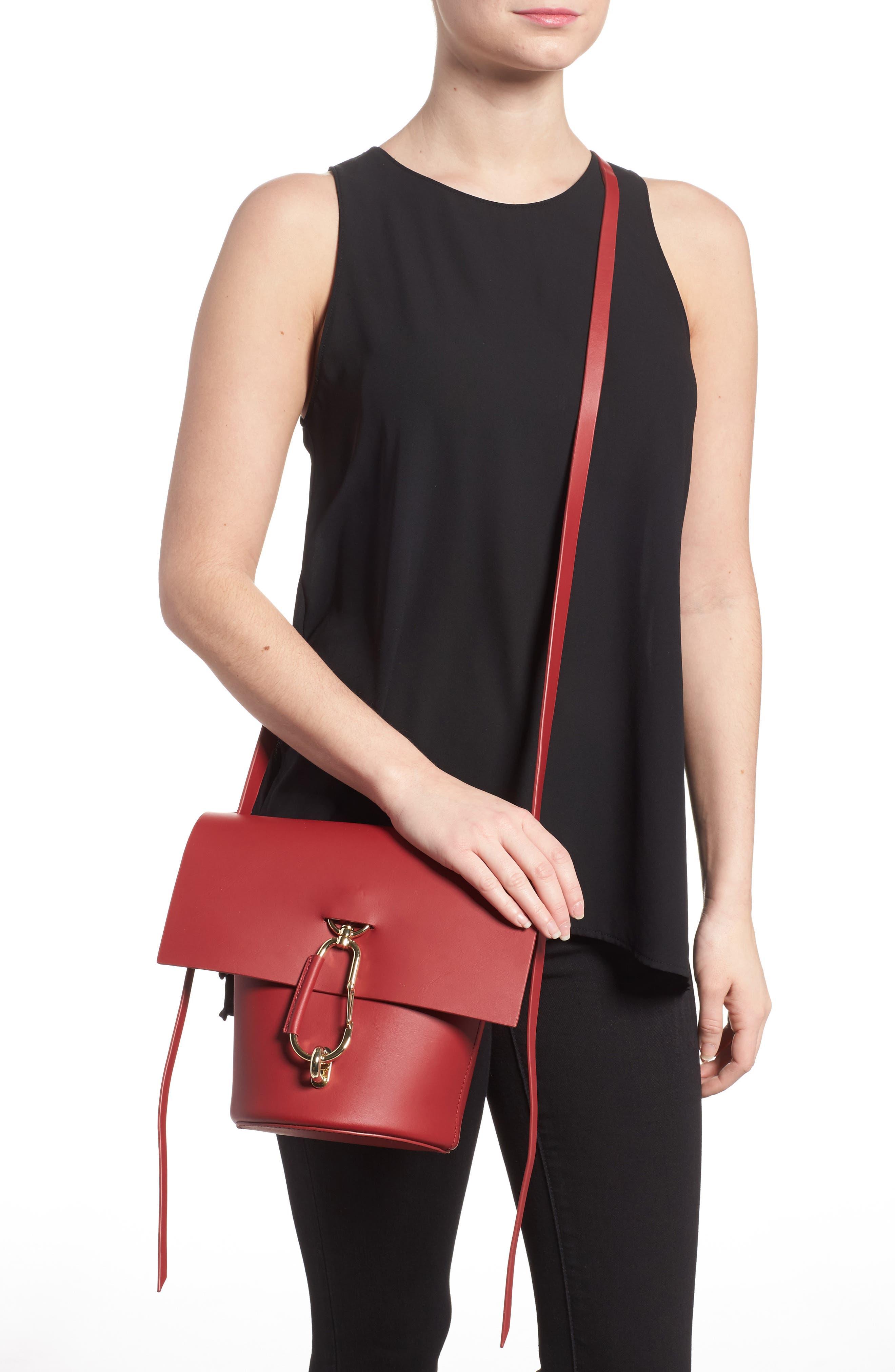 Alternate Image 2  - ZAC Zac Posen Belay Calfskin Leather Crossbody Bucket Bag