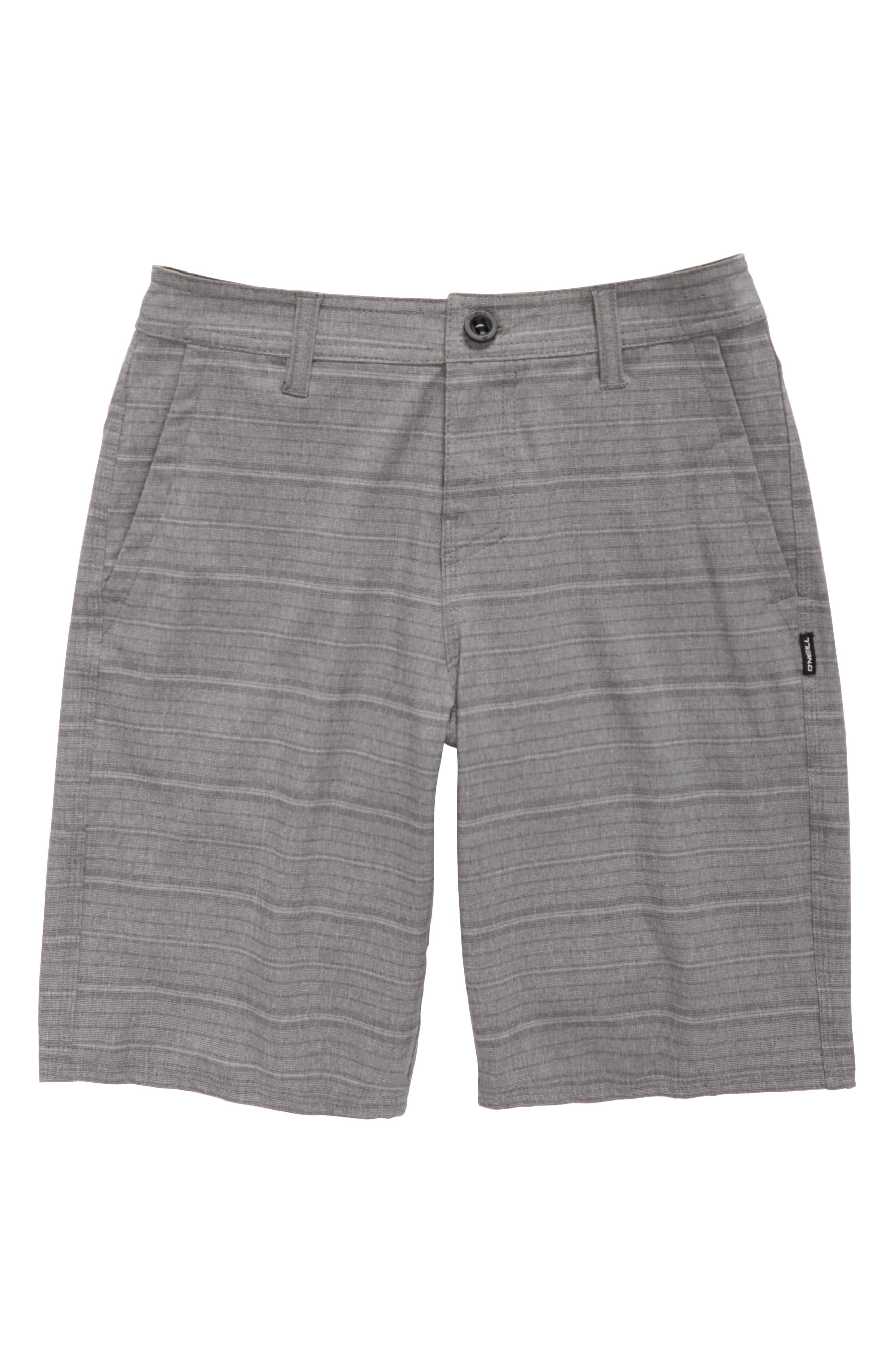 O'Neill Locked Stripe Hybrid Shorts (Big Boys)