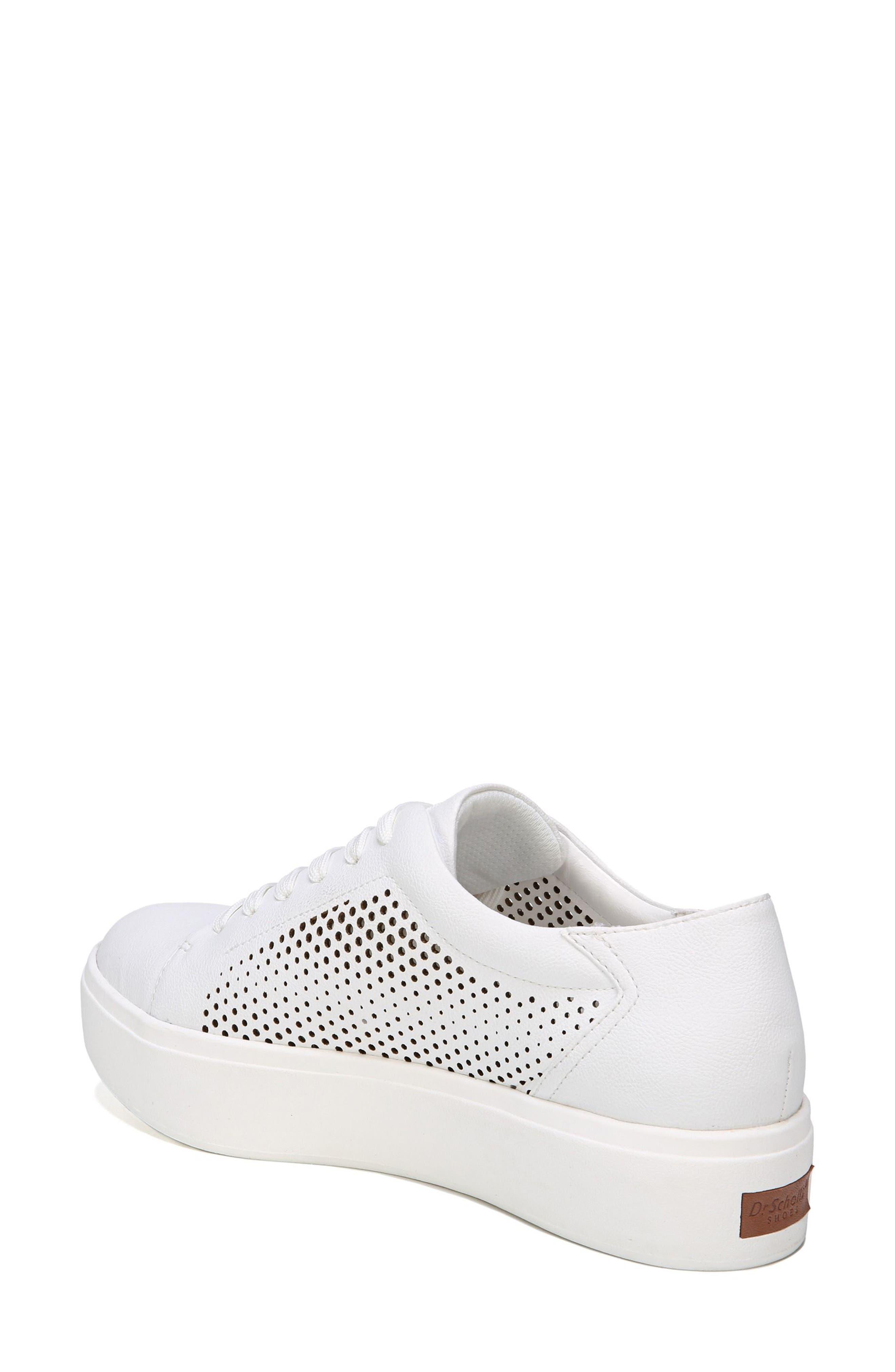 Kinney Platform Sneaker,                             Alternate thumbnail 2, color,                             White