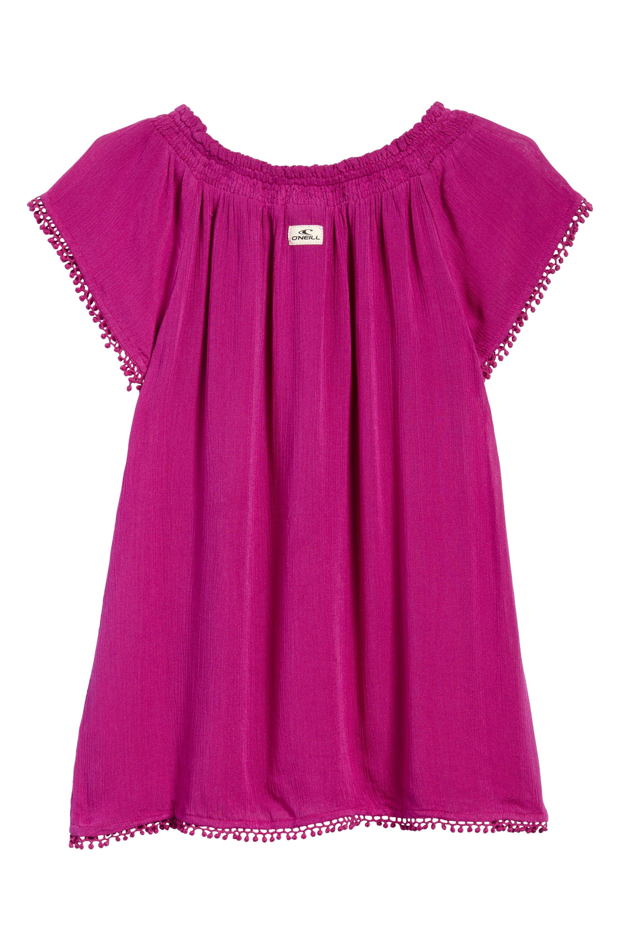 Avery Woven Dress,                             Alternate thumbnail 2, color,                             Boysenberry