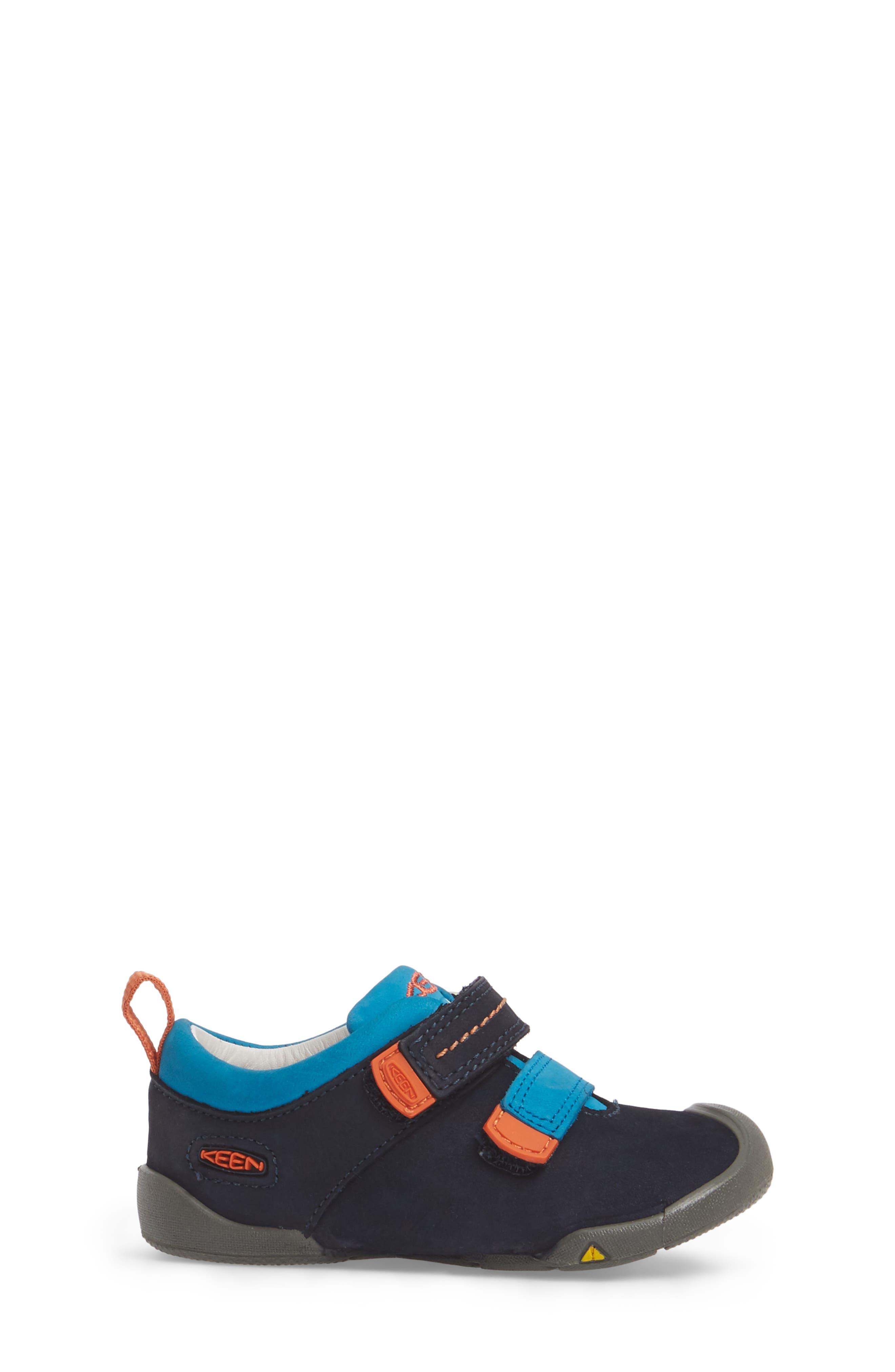 Pep Double Strap-T Sneaker,                             Alternate thumbnail 3, color,                             Dress Blues/ Koi