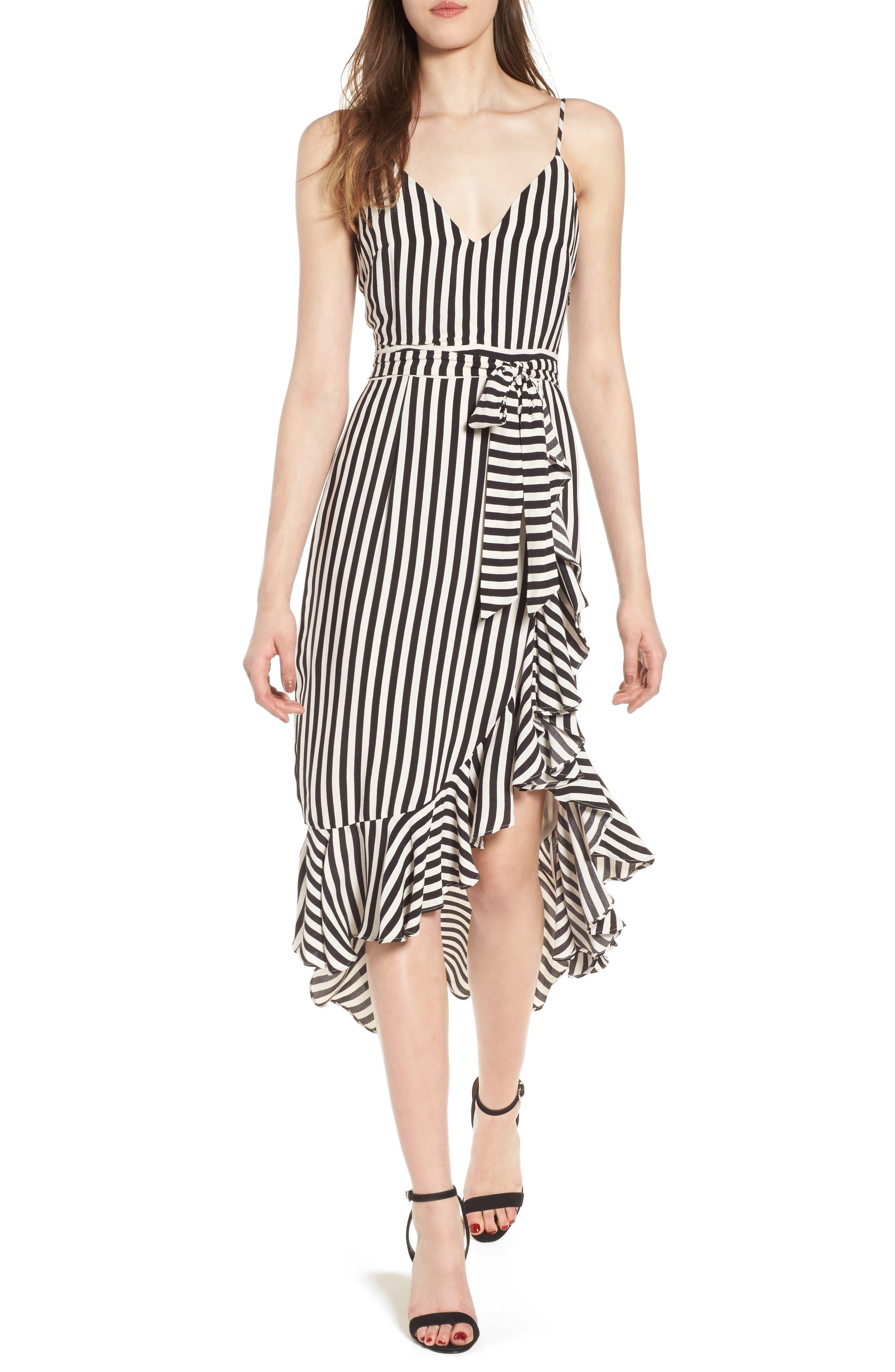 Main Image - Lovers + Friends Bridget Midi Dress