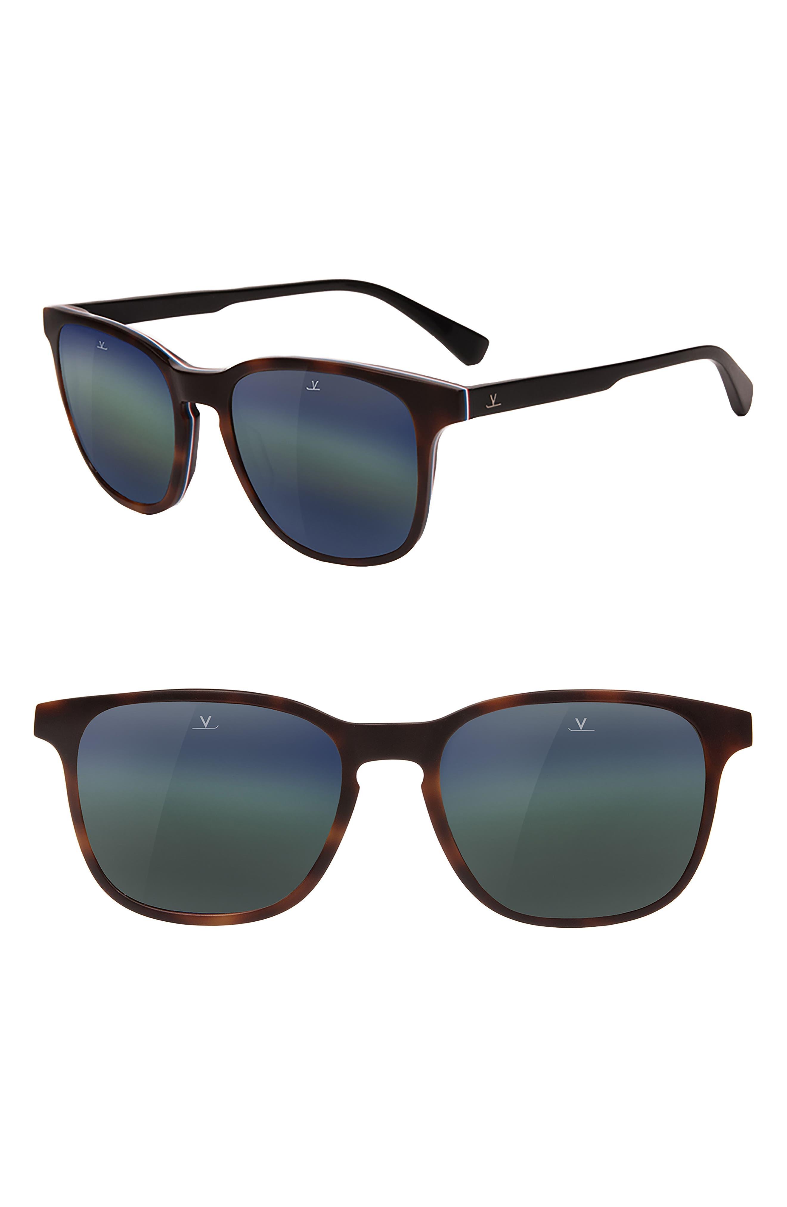 District Medium 53mm Sunglasses,                         Main,                         color, Pure Grey Blue Lynx