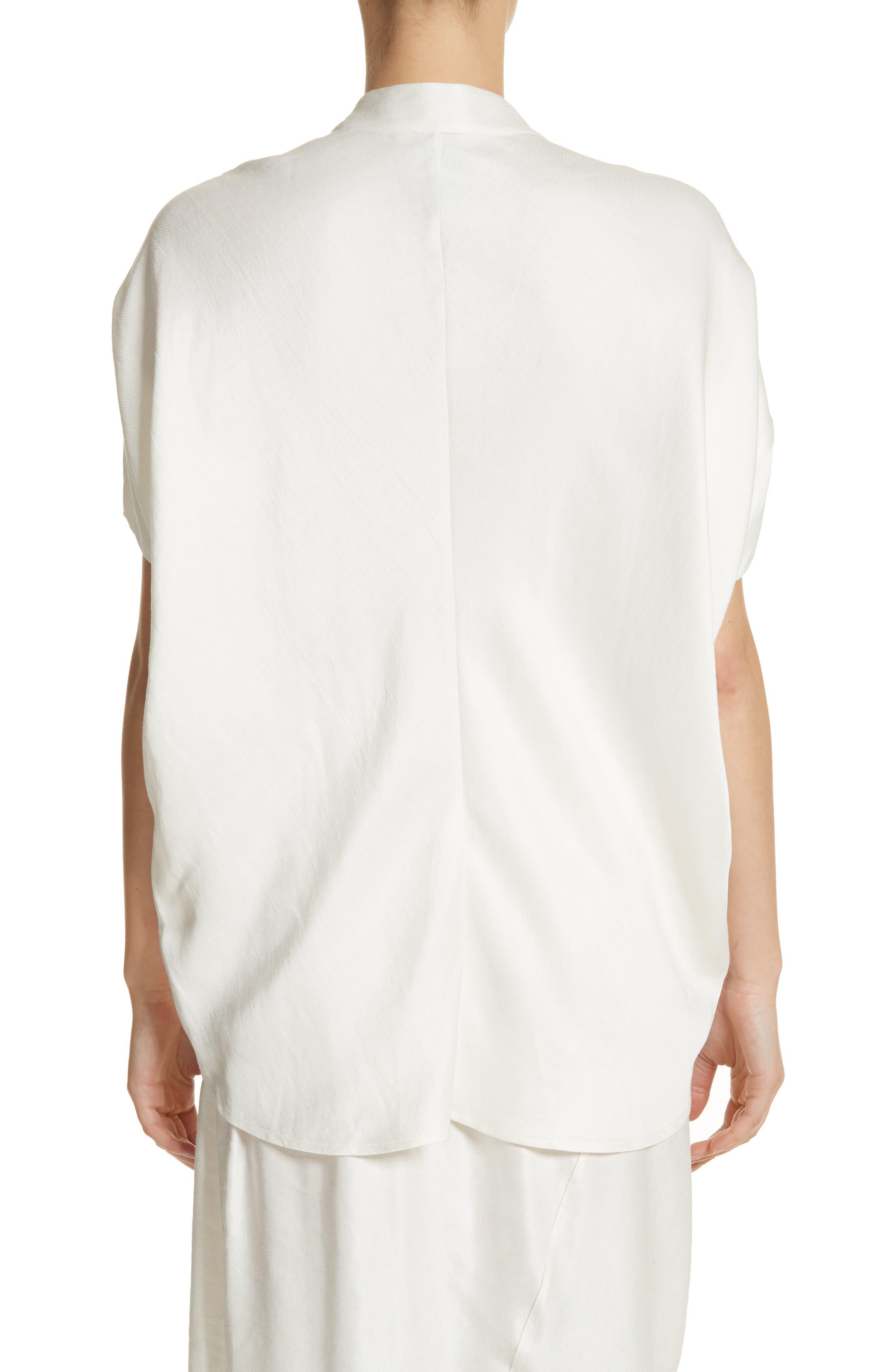 Alternate Image 2  - Zero + Maria Cornejo Concave Drape Shirt