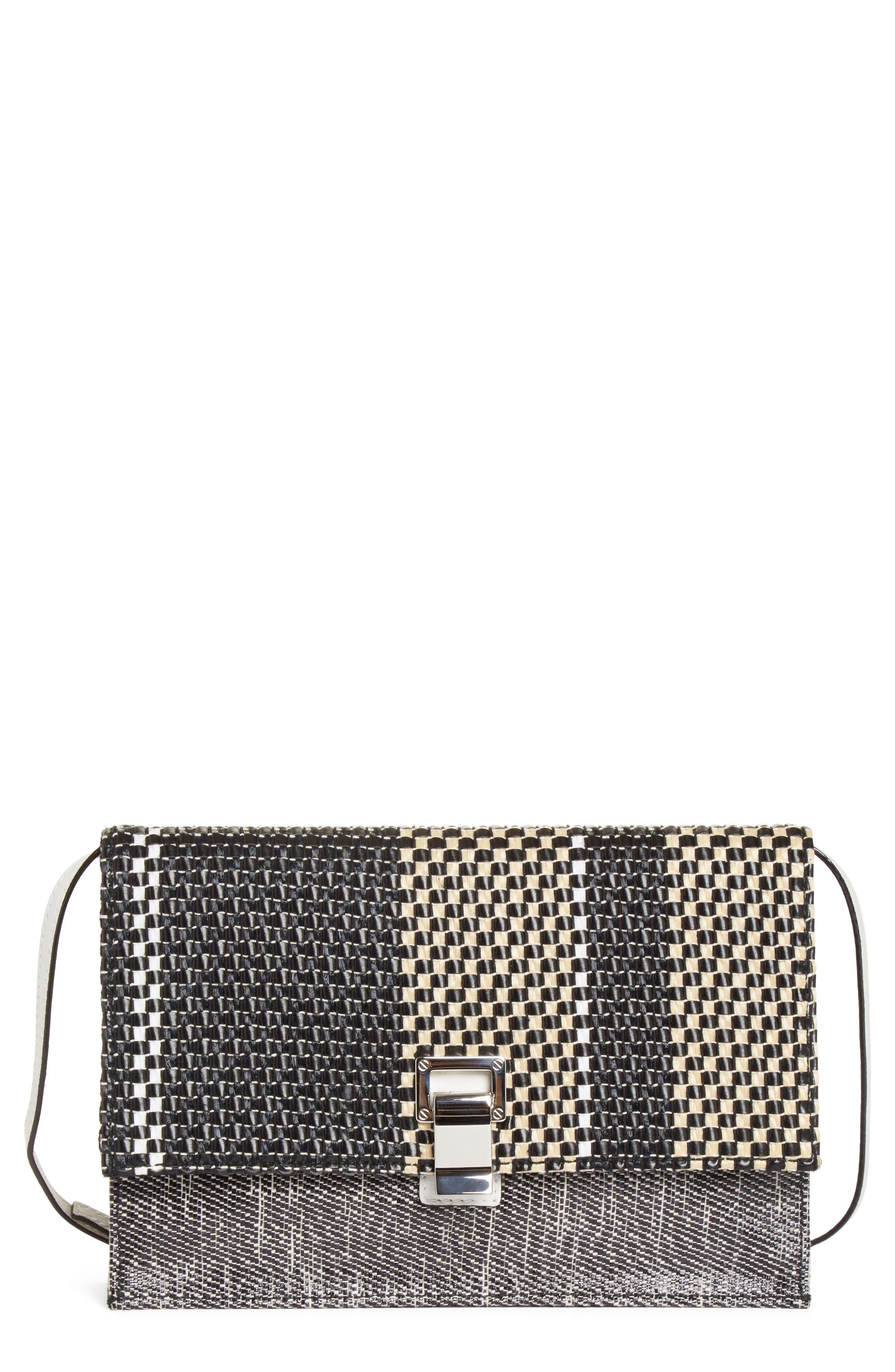 Main Image - Proenza Schouler Small Lunch Bag Woven Leather Shoulder Bag