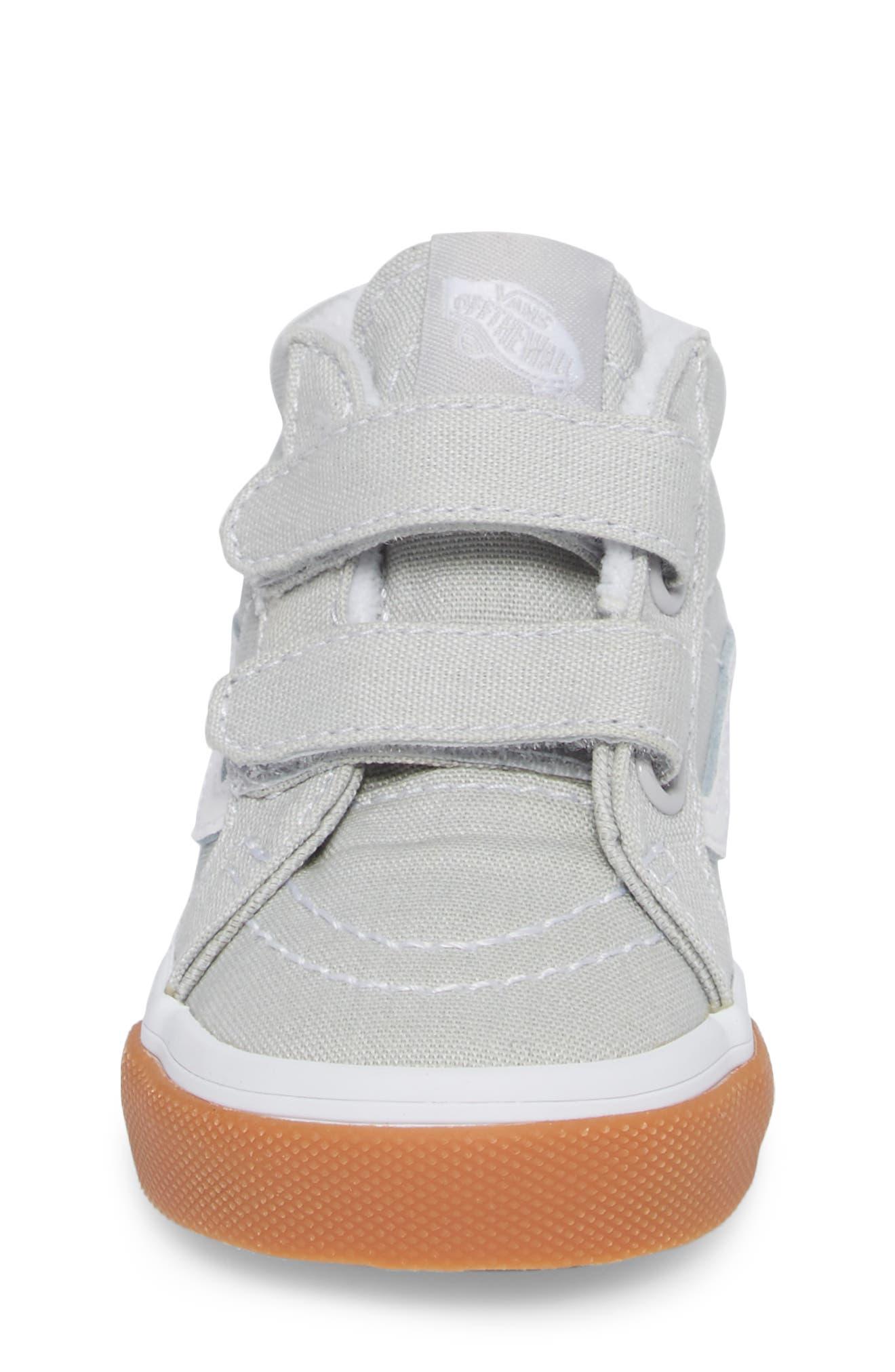 Alternate Image 4  - Vans SK8-Mid Reissue V Sneaker (Baby, Walker & Toddler)
