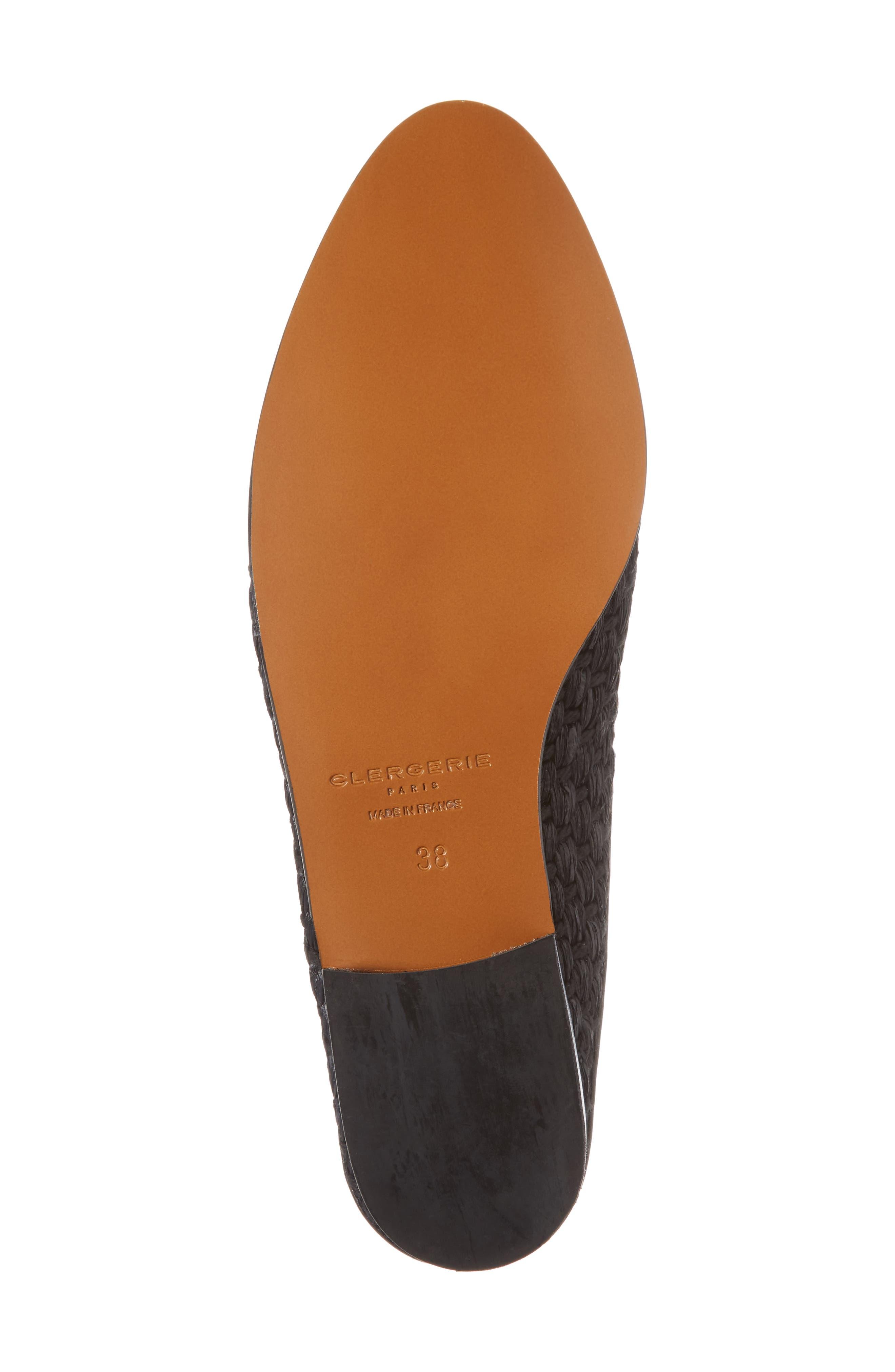 Aliceop Woven Loafer Mule,                             Alternate thumbnail 6, color,                             Black