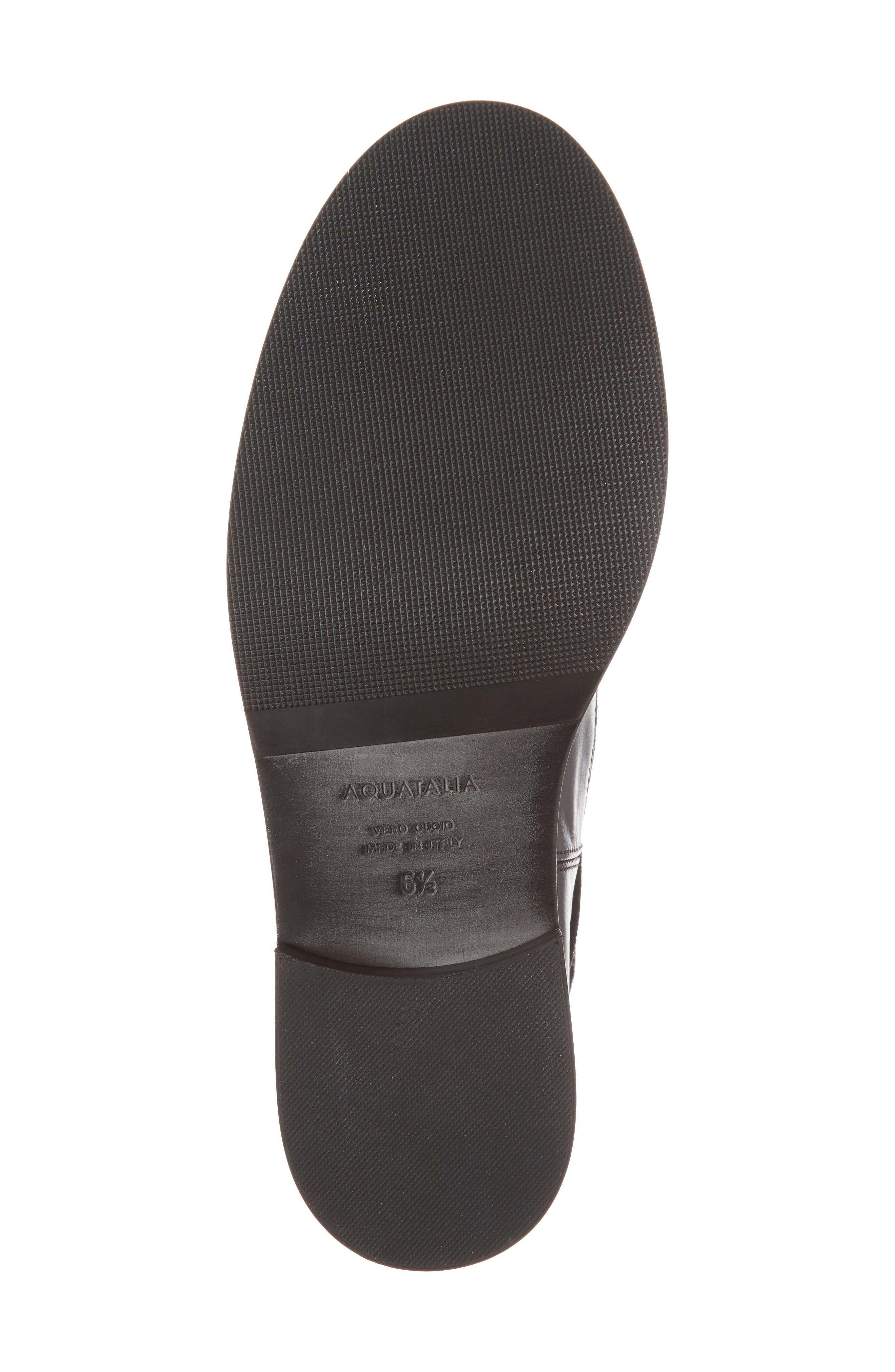 Brigitta Weatherproof Boot,                             Alternate thumbnail 6, color,                             Black/ Black
