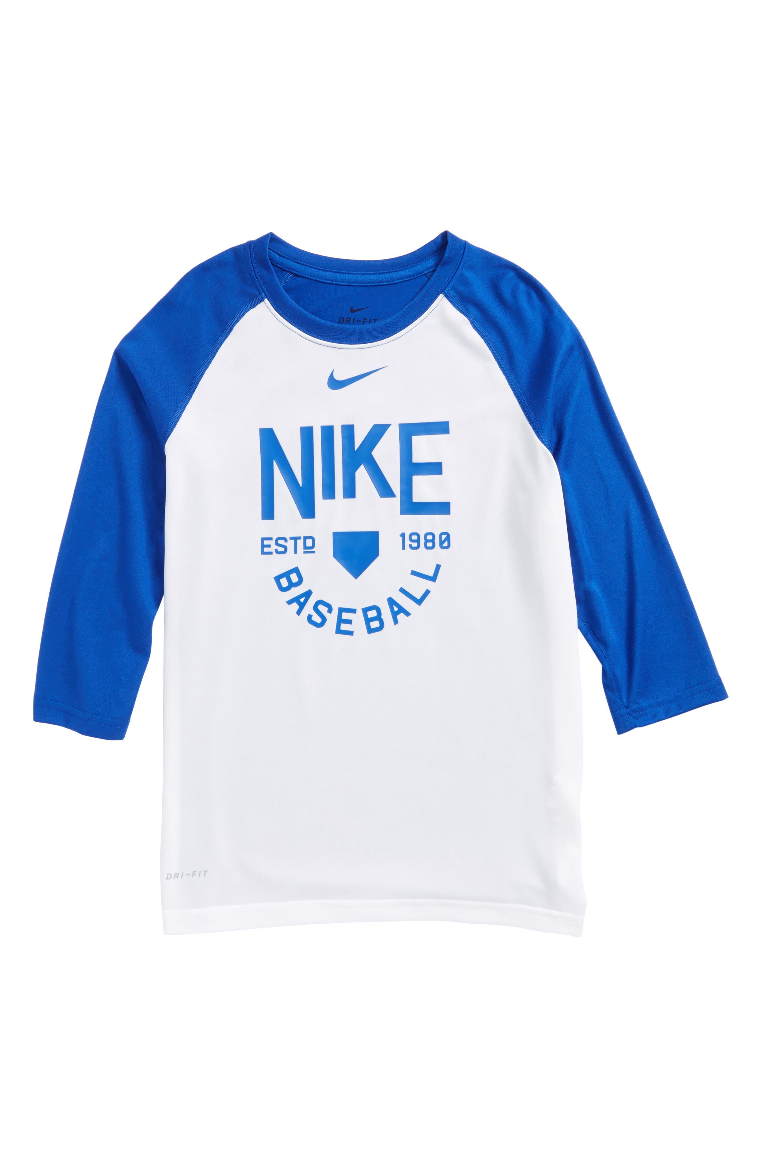 Alternate Image 1 Selected - Nike Dry Legend Baseball T-Shirt (Little Boys & Big Boys)