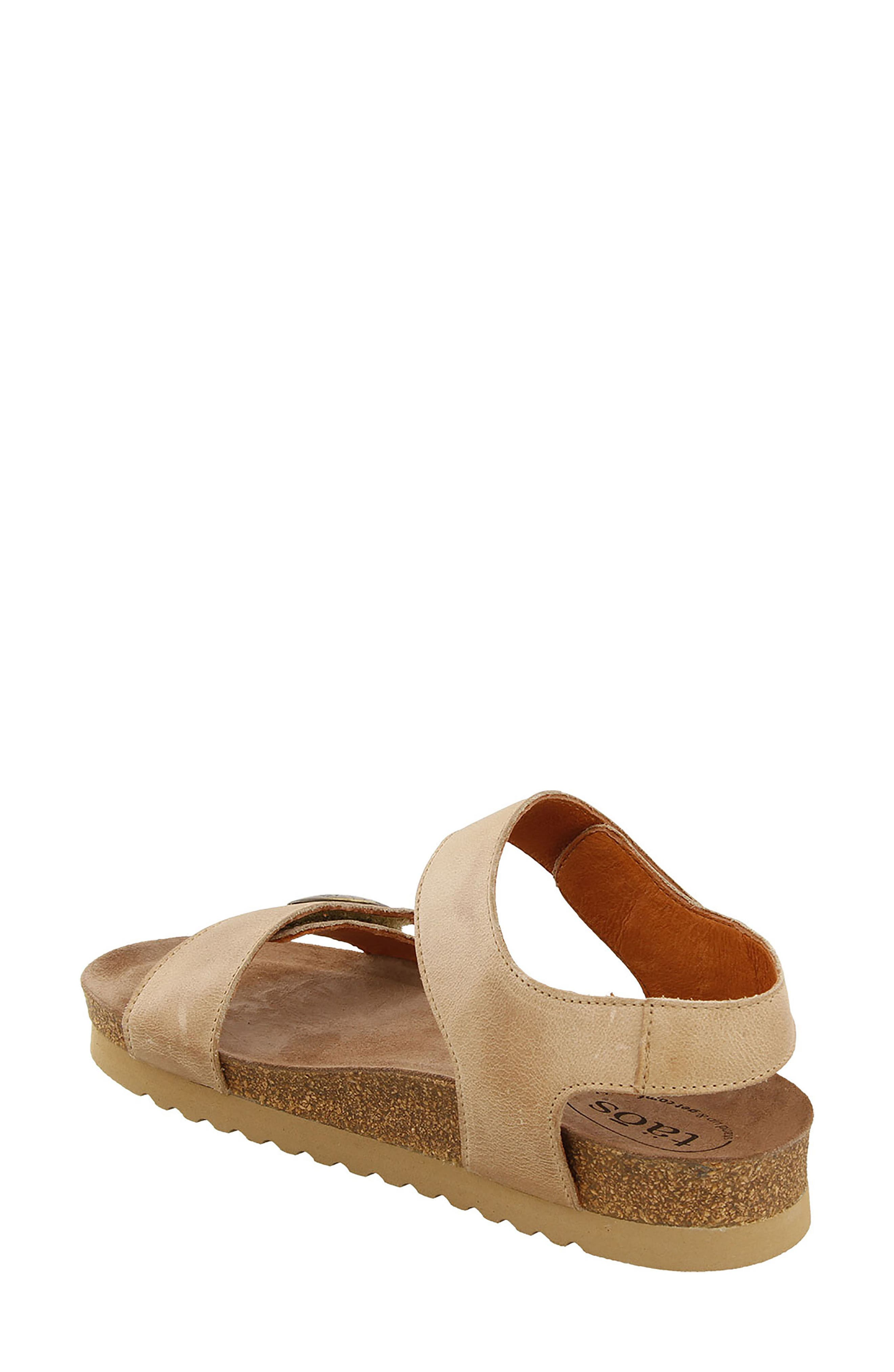 Luckie Sandal,                             Alternate thumbnail 2, color,                             Taupe Leather