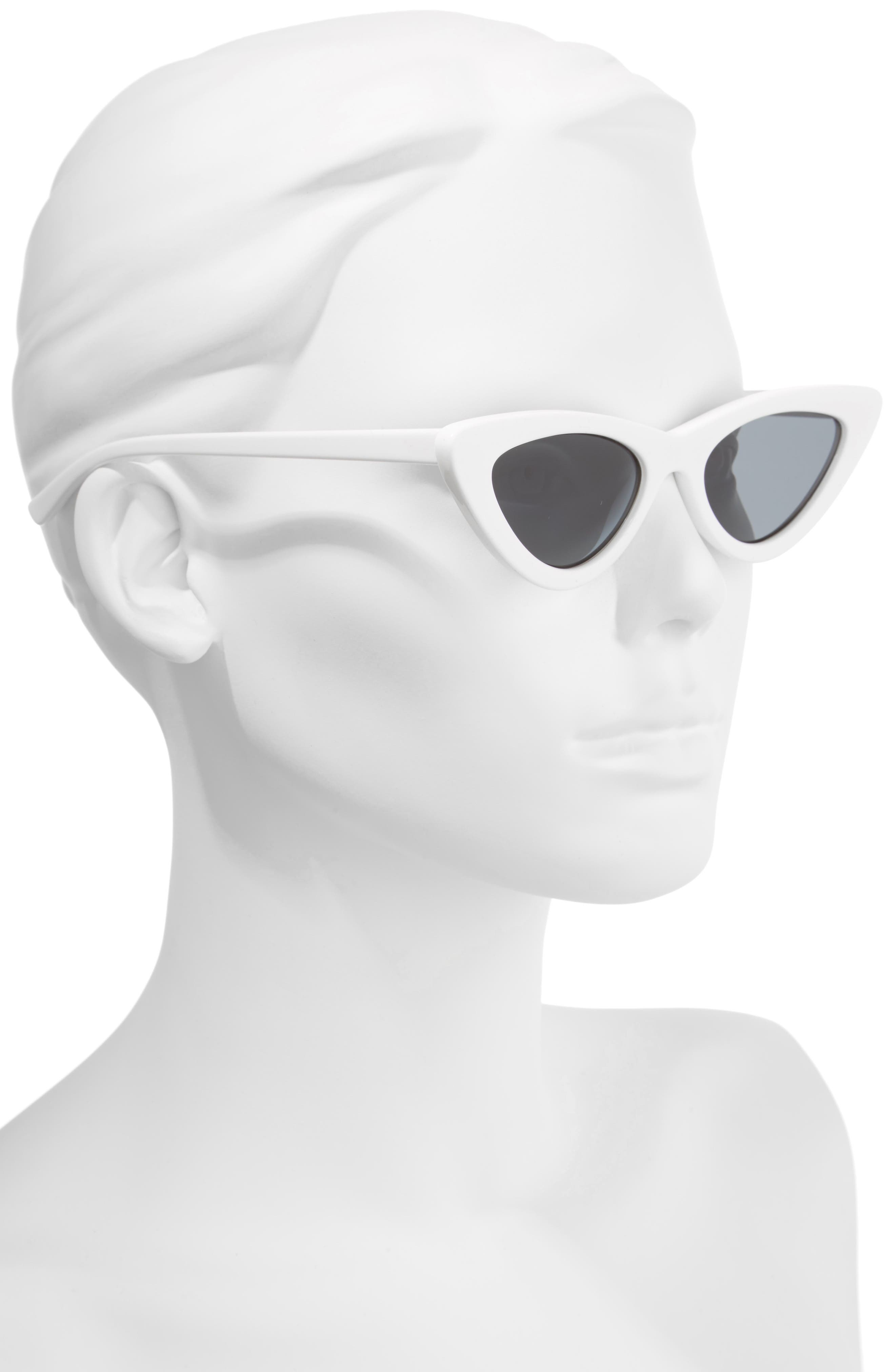 Alternate Image 2  - Le Specs x Adam Selman Last Lolita 49mm Cat Eye Sunglasses