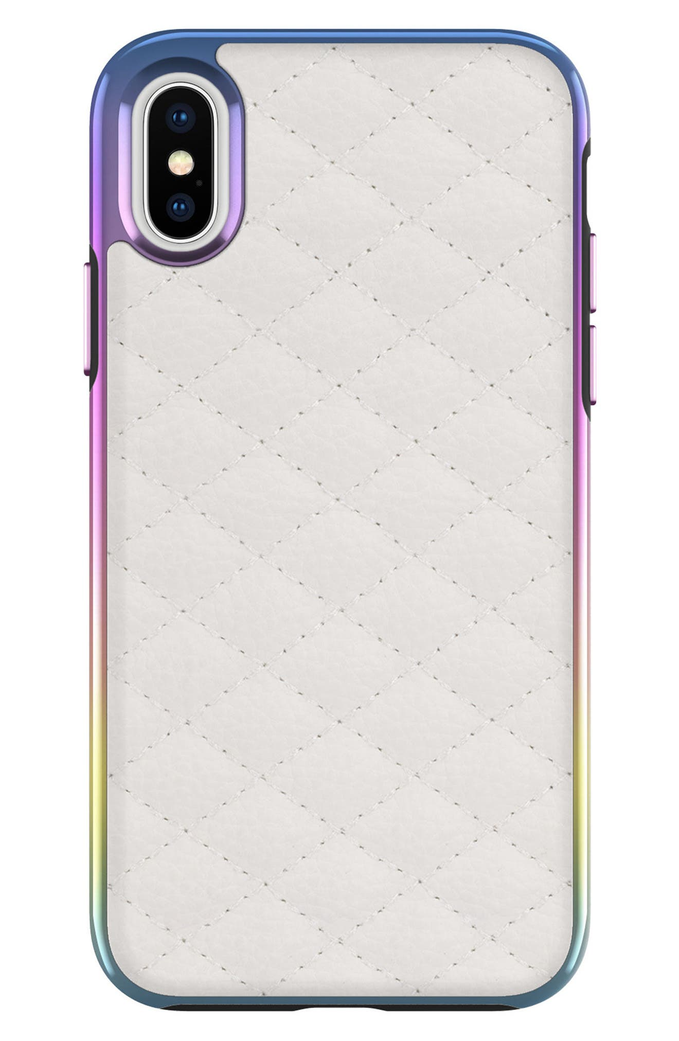 Rebecca Minkoff Luxe Quilted Leather iPhone X Case