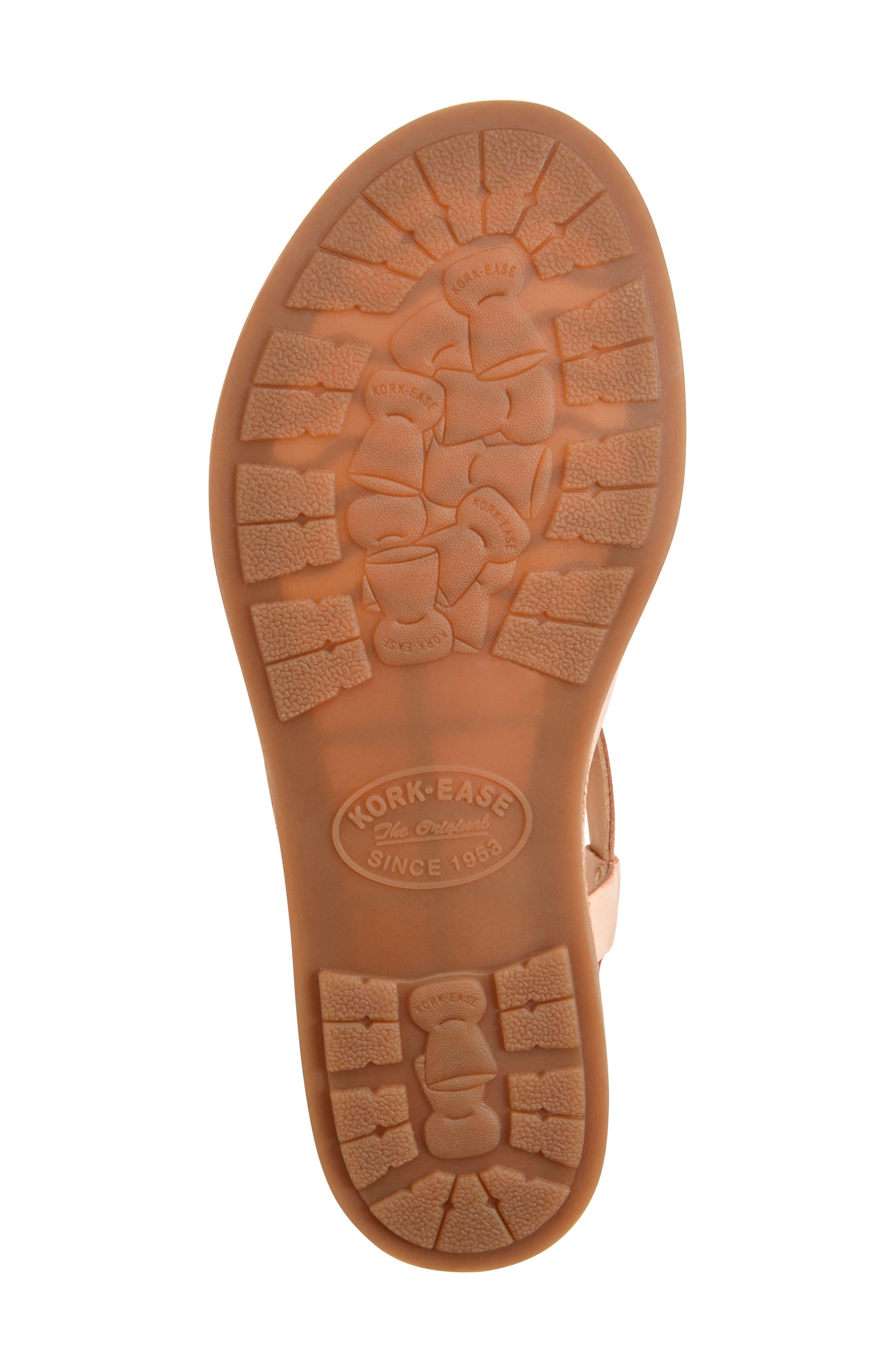 Yarbrough Sandal,                             Alternate thumbnail 6, color,                             Blush Leather