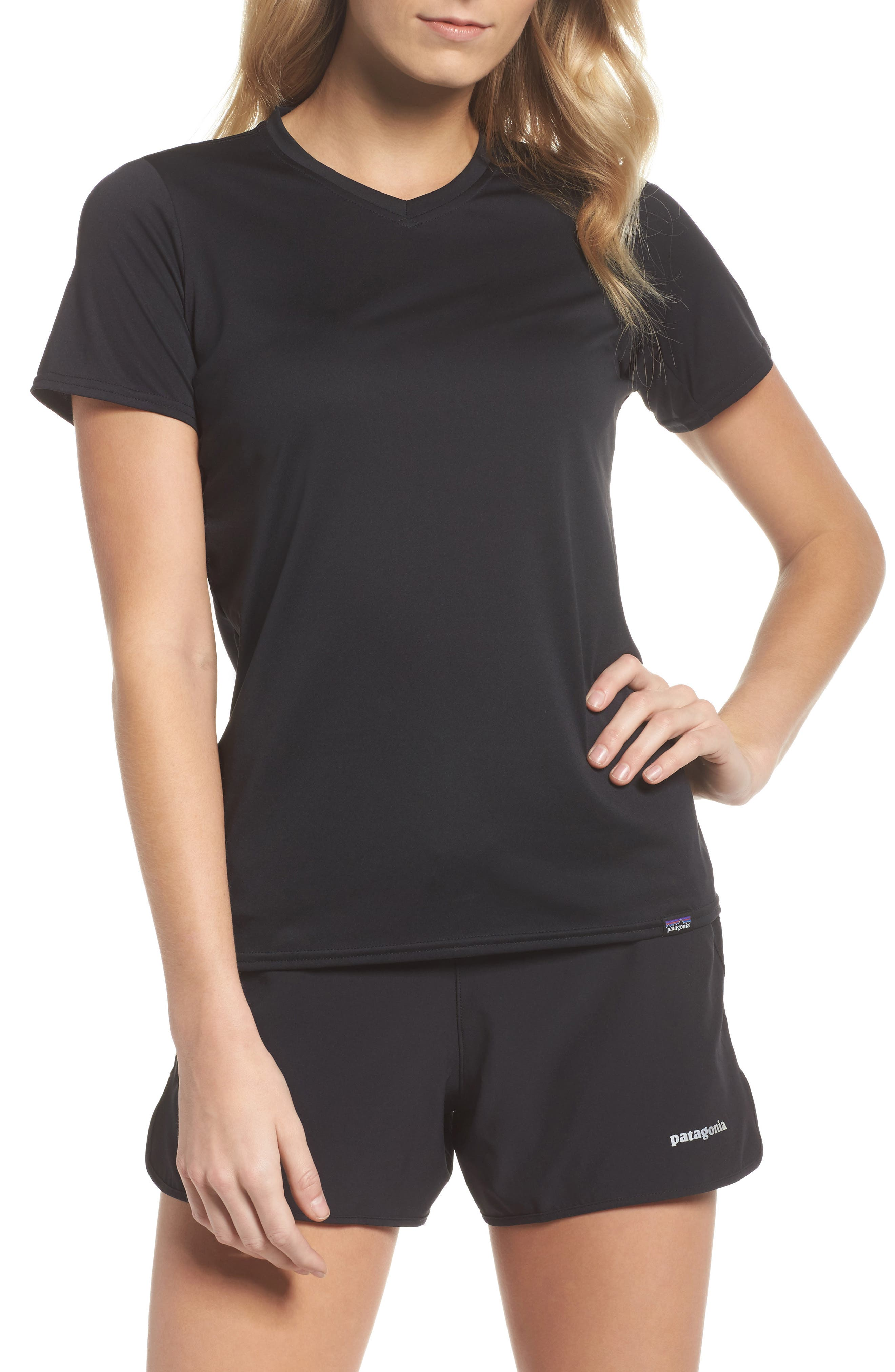 Capilene<sup>®</sup> Dailty T-Shirt,                             Main thumbnail 1, color,                             Black
