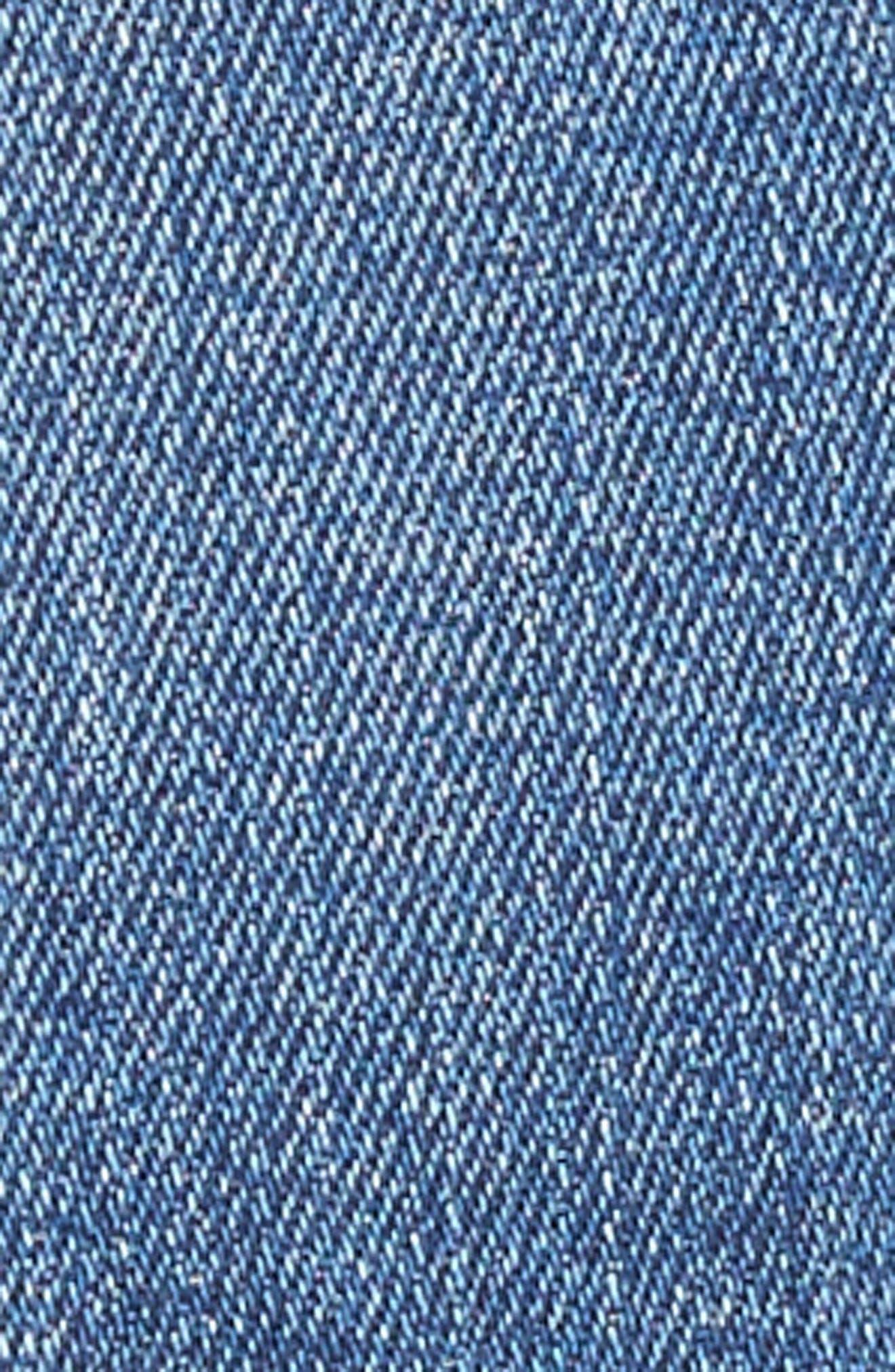 Jimmy Jimmy High Waist Crop Boyfriend Jeans,                             Alternate thumbnail 6, color,                             Ludlow Destructed