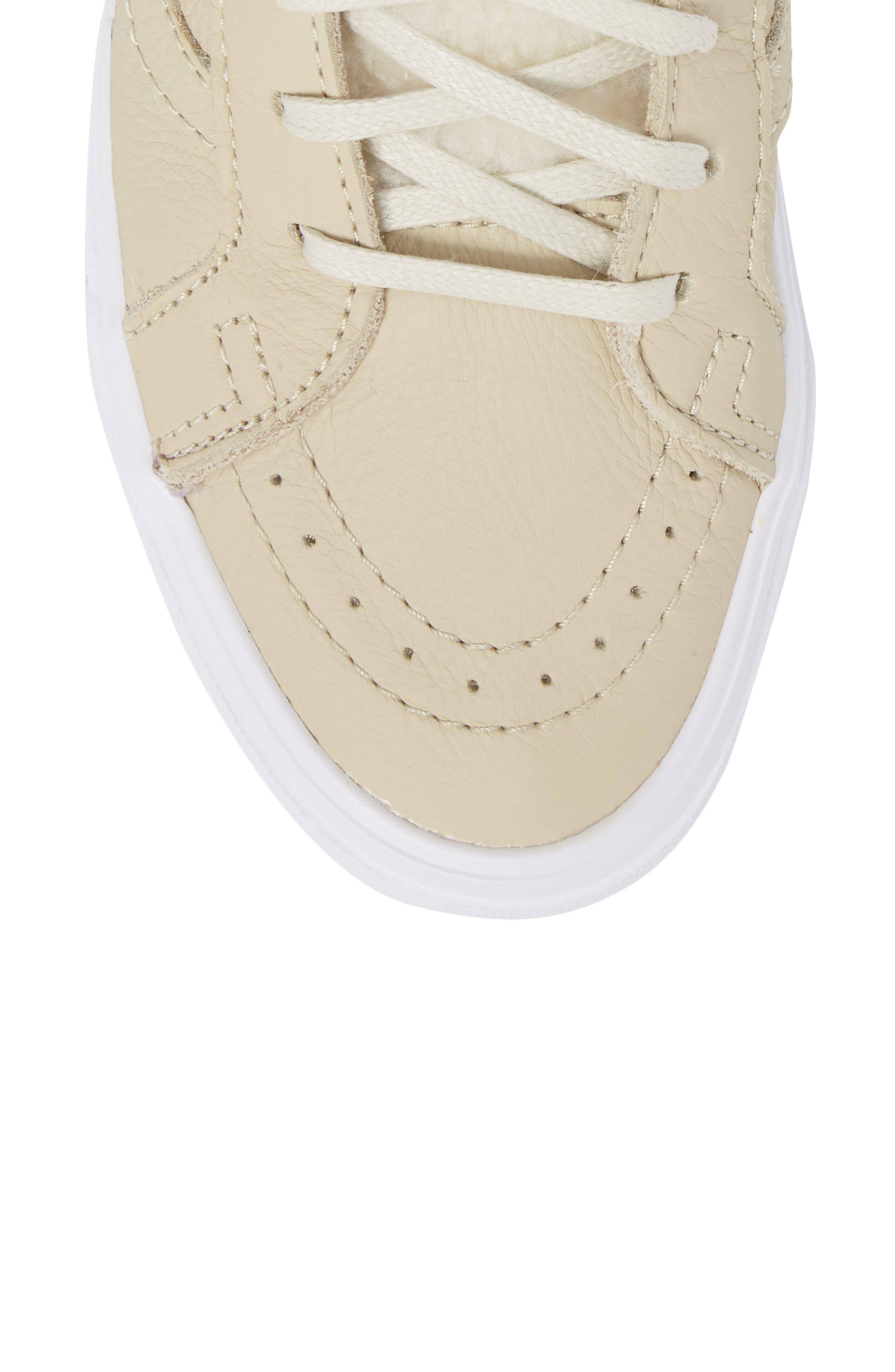 Sk8-Hi Reissue Lite High Top Sneaker,                             Alternate thumbnail 5, color,                             Cement/ True White