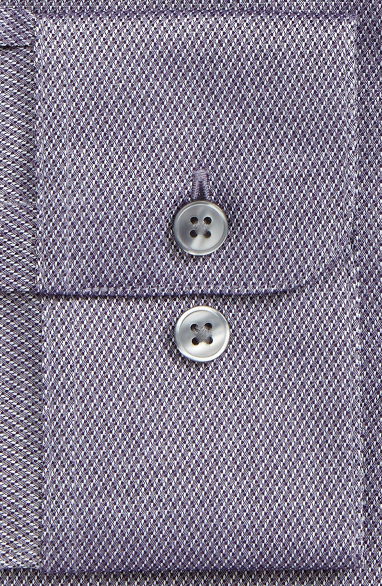 Regular Fit Dress Shirt,                             Alternate thumbnail 2, color,                             Purple
