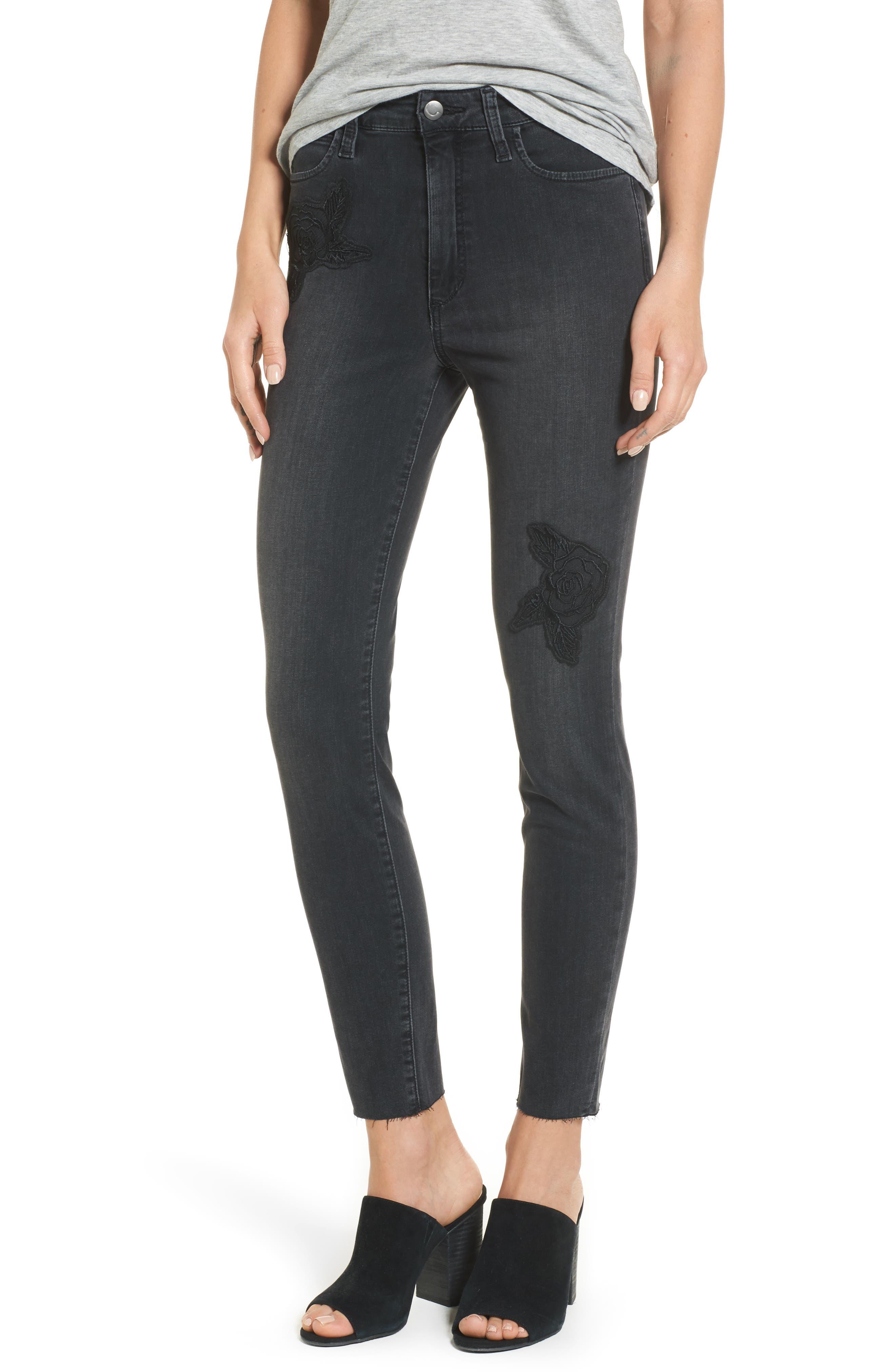 Charlie High Waist Ankle Skinny Jeans,                         Main,                         color, Sonata