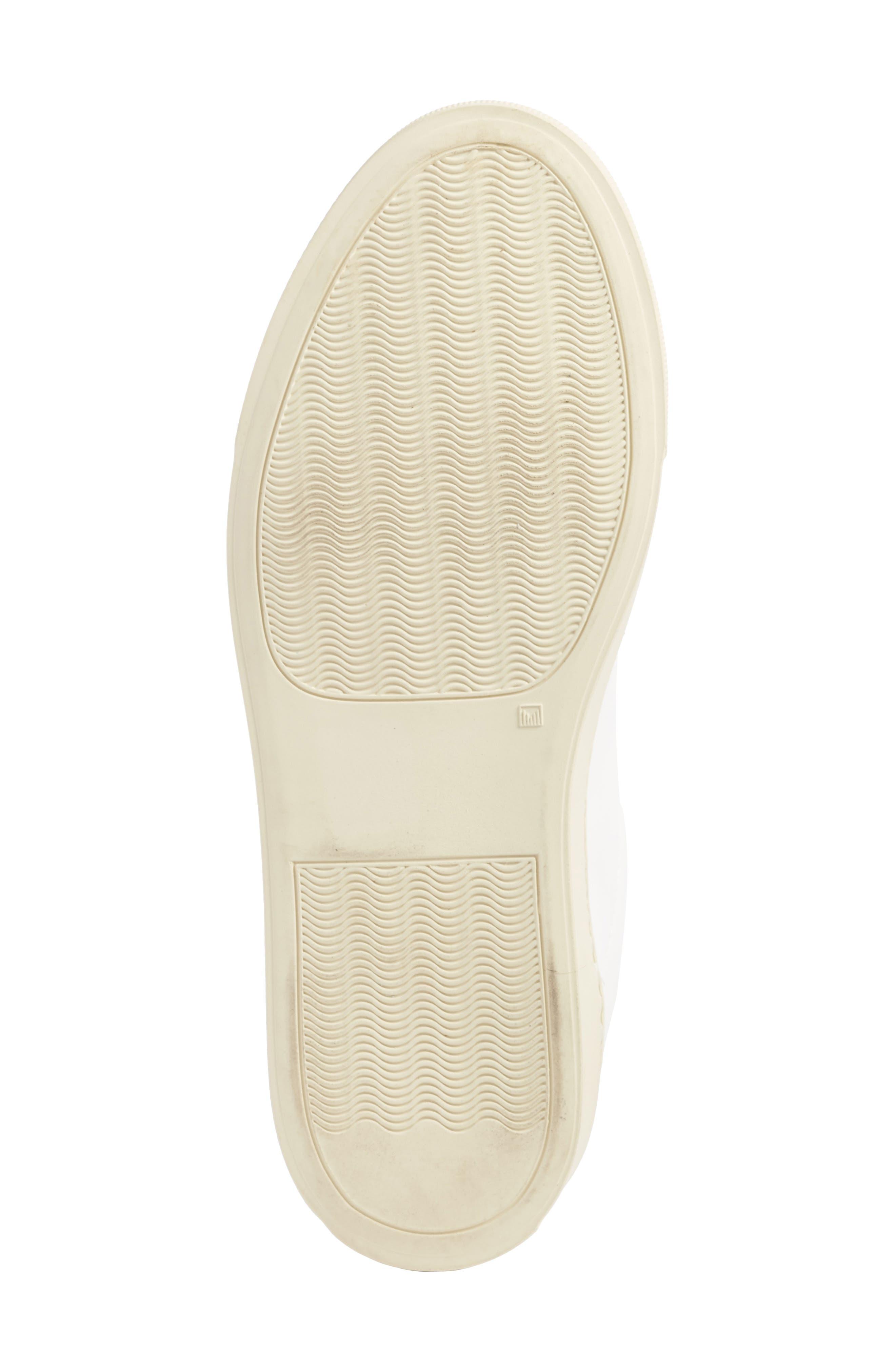 Achilles Low Top Sneaker,                             Alternate thumbnail 6, color,                             White/ Black