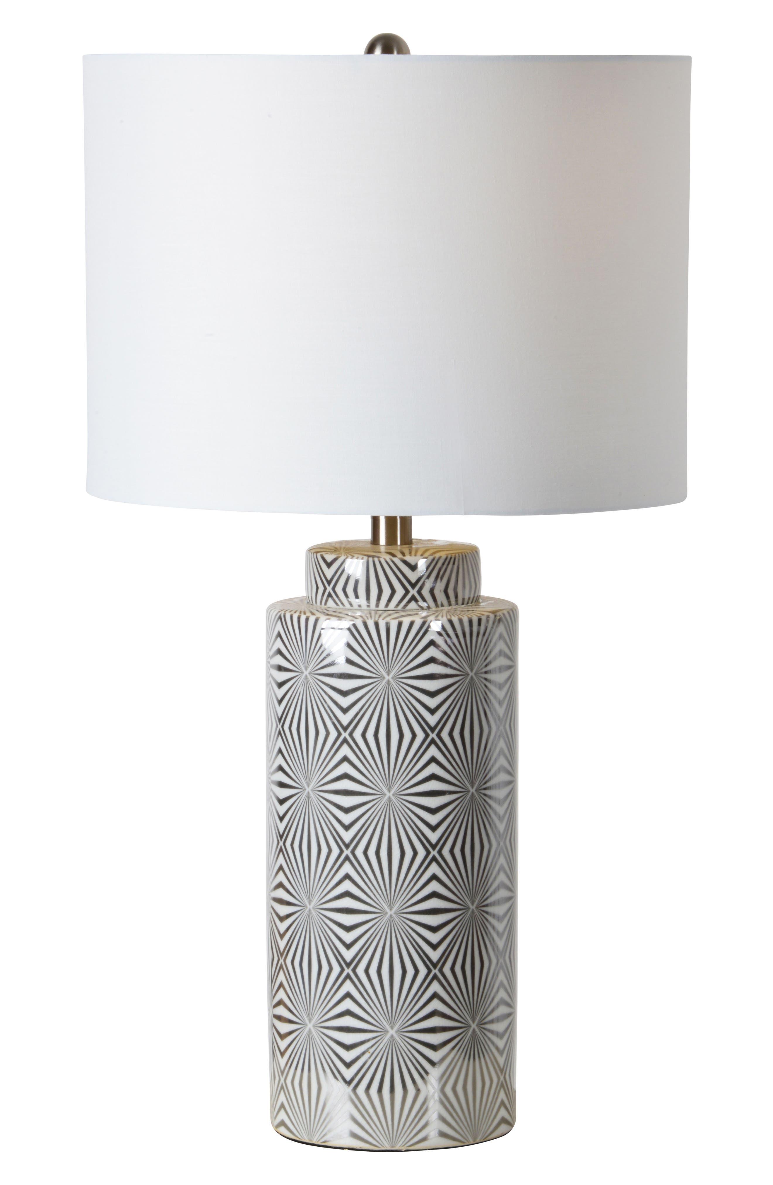 Camden Table Lamp,                         Main,                         color, Silver/ White