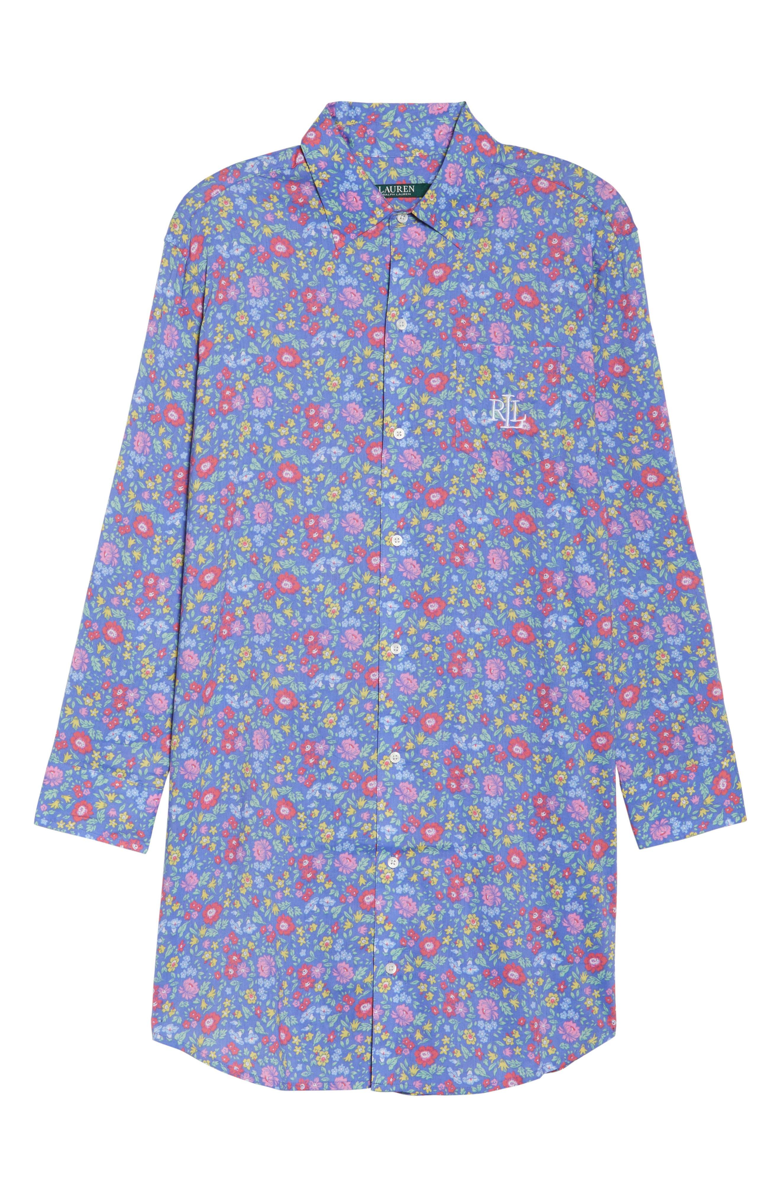 Alternate Image 4  - Lauren Ralph Lauren His Night Shirt