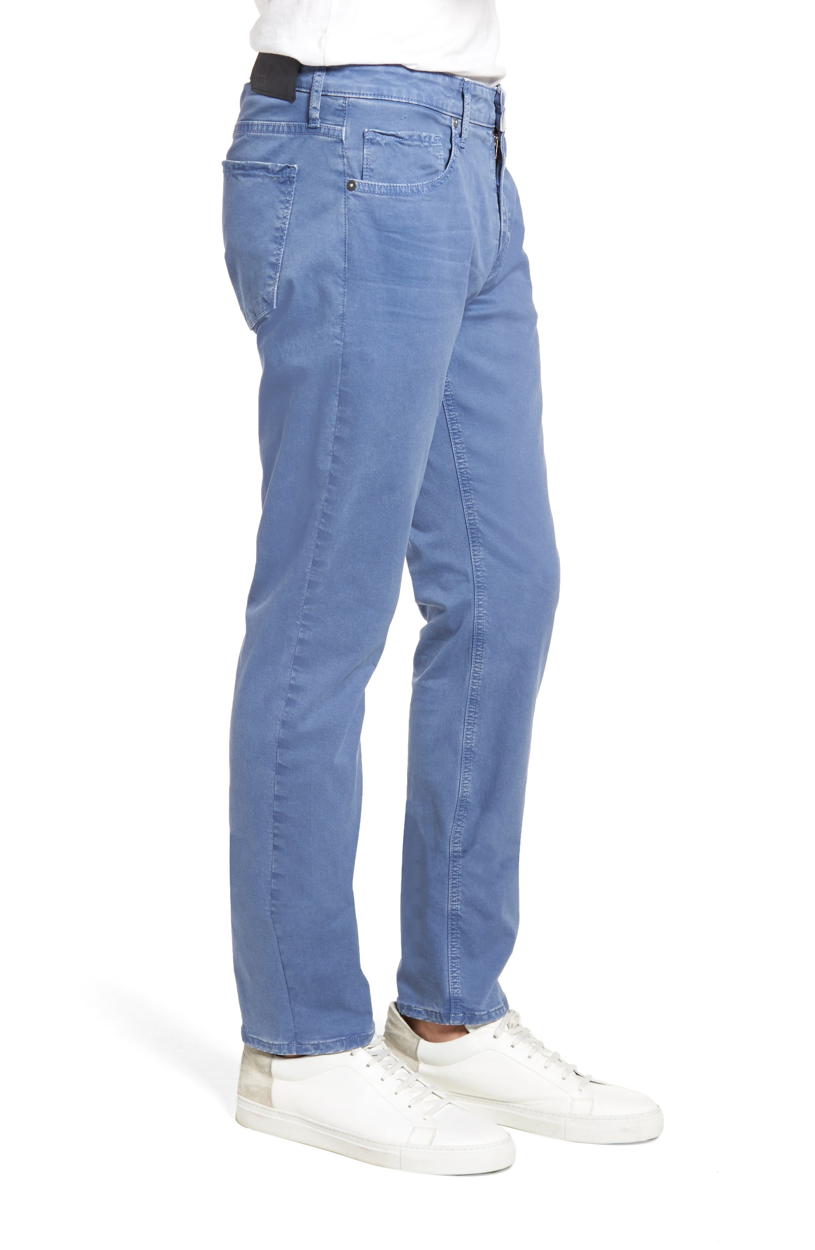 Lennox Slim Fit Five-Pocket Pants,                             Alternate thumbnail 3, color,                             Vintage Mariner