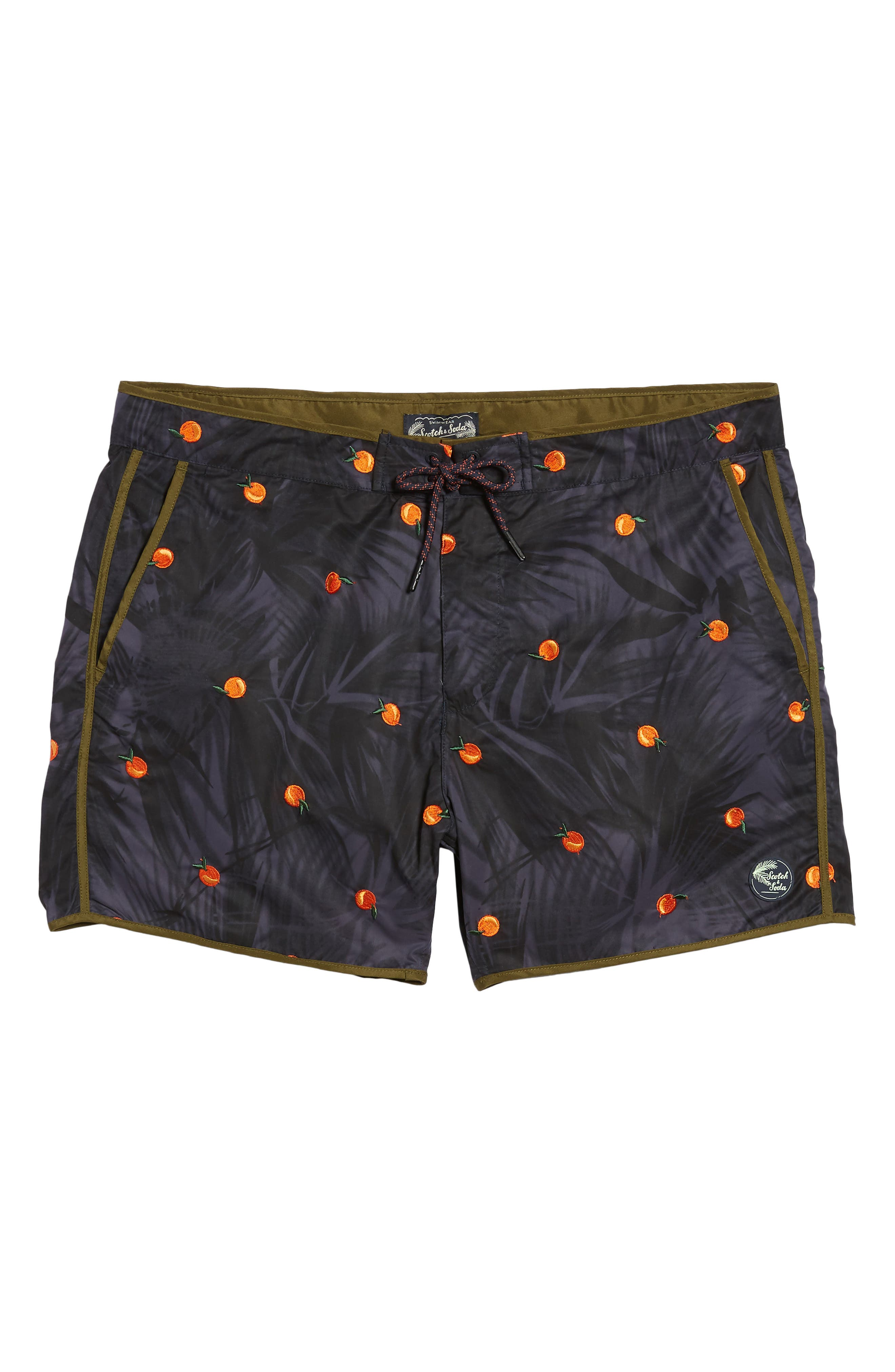 Print Swim Trunks,                             Alternate thumbnail 6, color,                             Combo B
