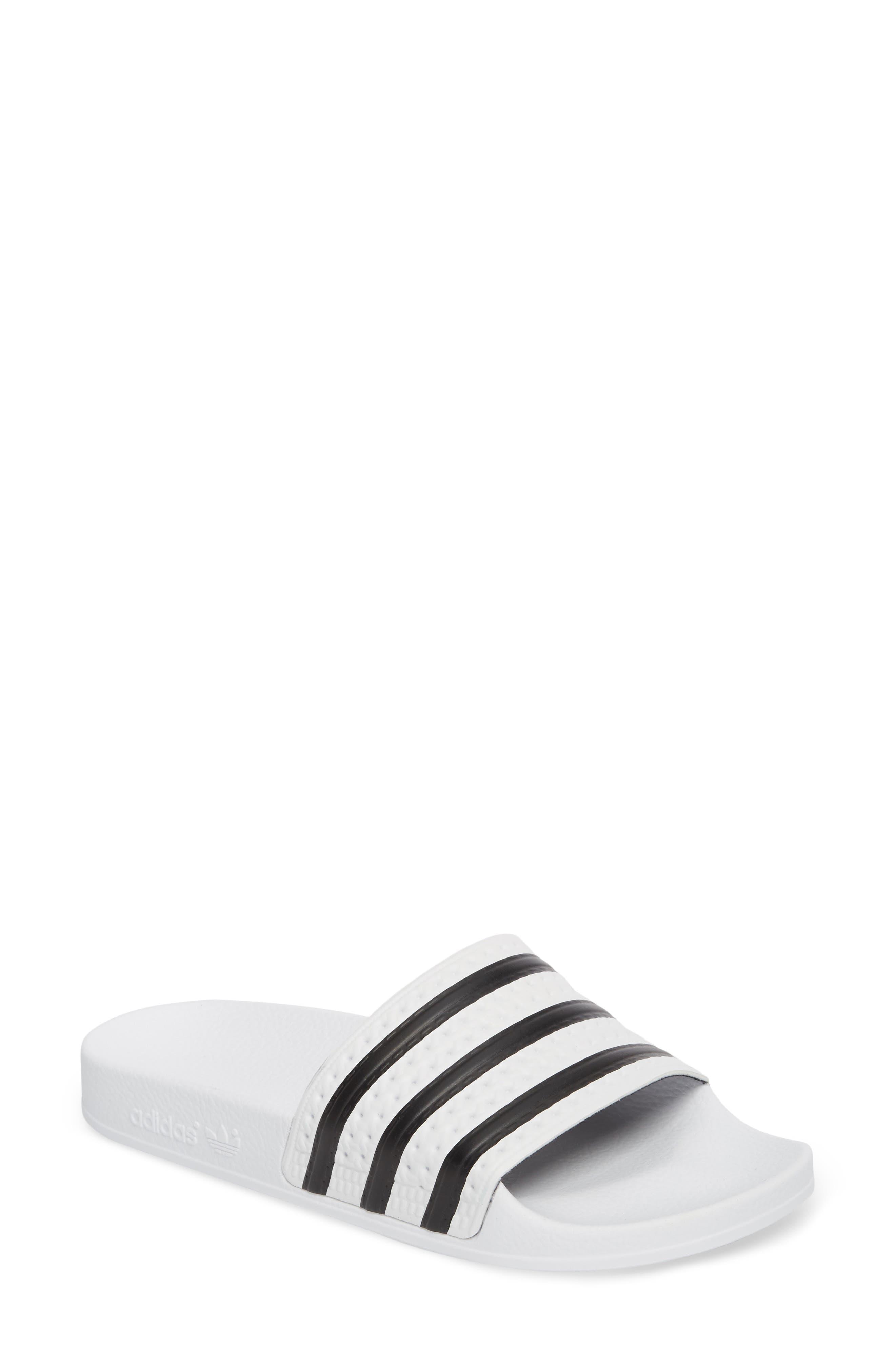 Alternate Image 1 Selected - adidas 'Adilette' Slide Sandal (Women)