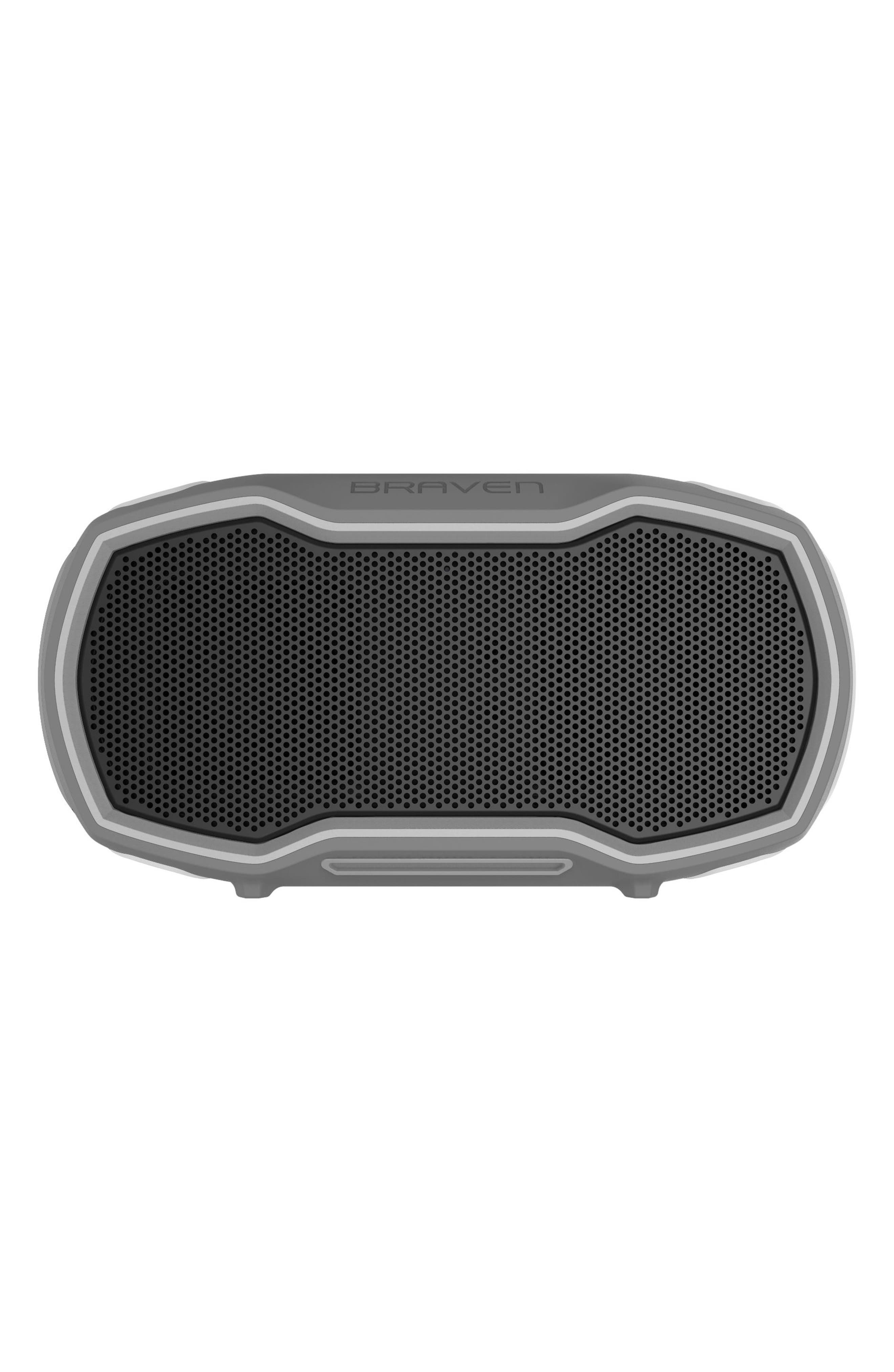 Ready Prime Bluetooth<sup>®</sup> Speaker,                             Main thumbnail 1, color,                             Grey/ Orange