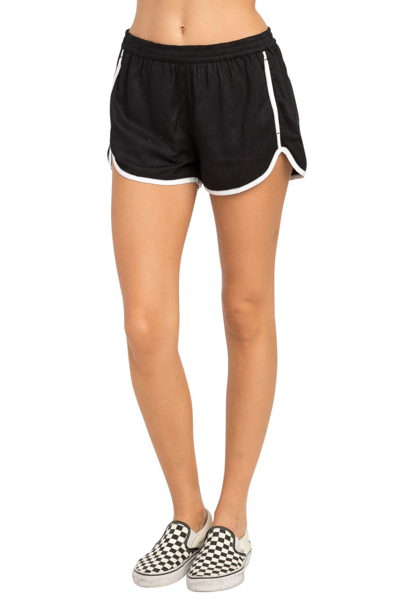 Cruising Dolphin Shorts,                             Main thumbnail 1, color,                             Black