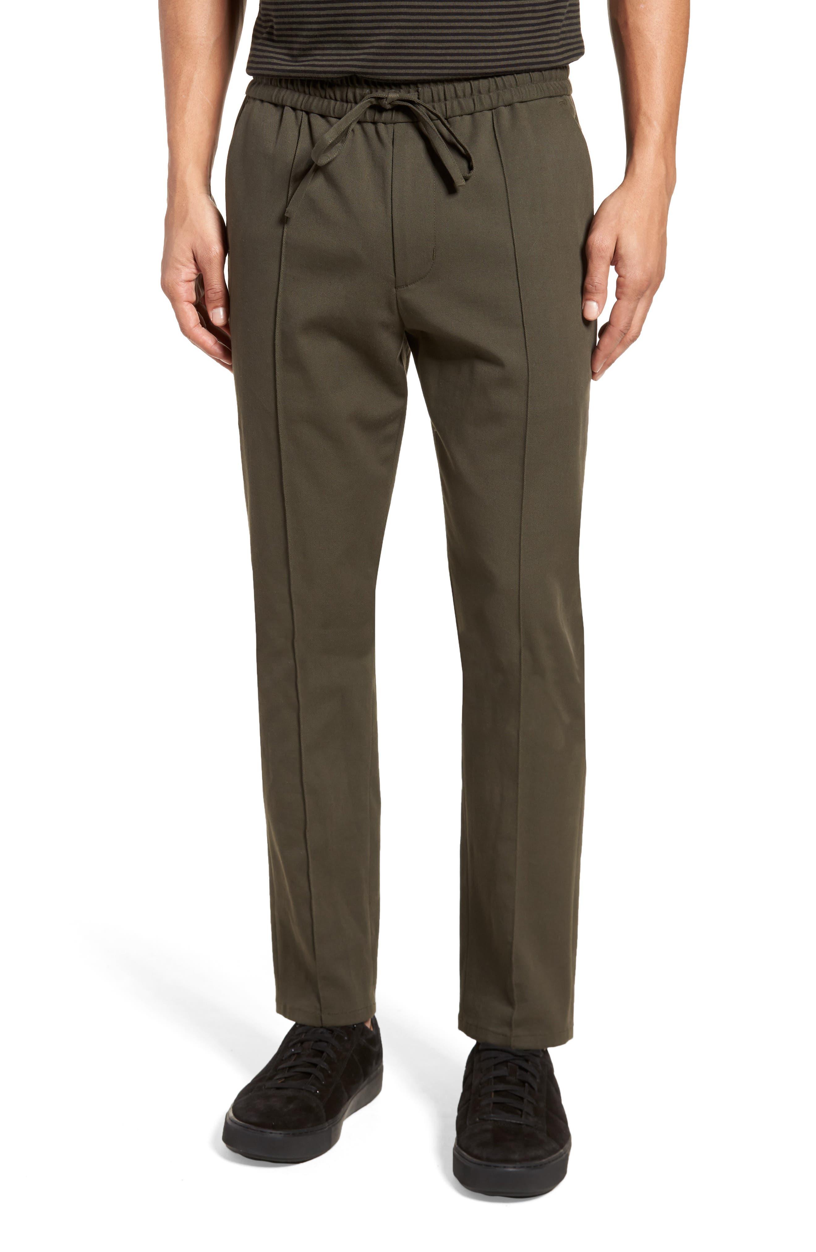 Regular Fit Track Pants,                         Main,                         color, Fatigue