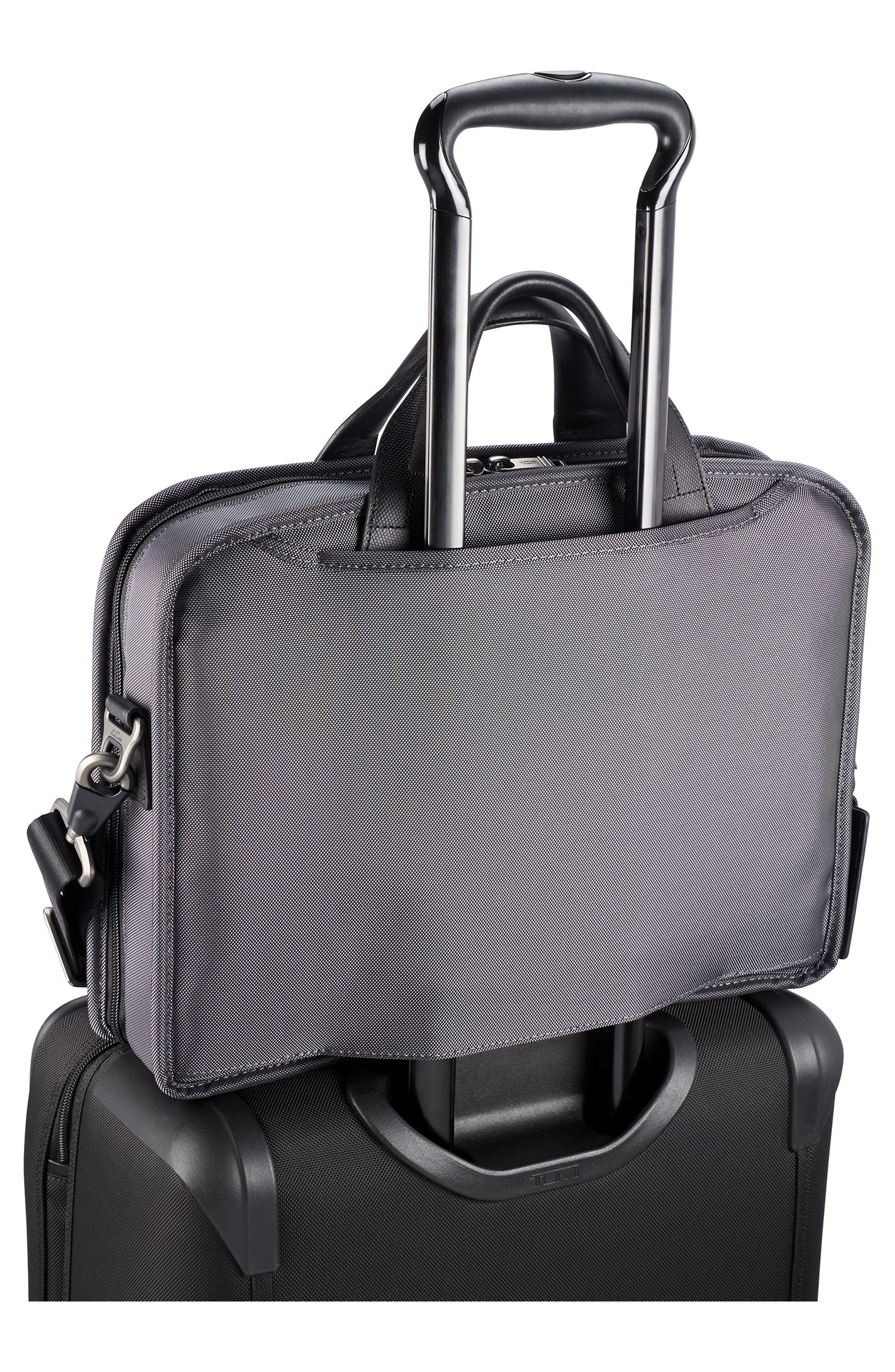 Alpha 2 - T-Pass<sup>™</sup> Briefcase,                             Alternate thumbnail 6, color,                             Pewter