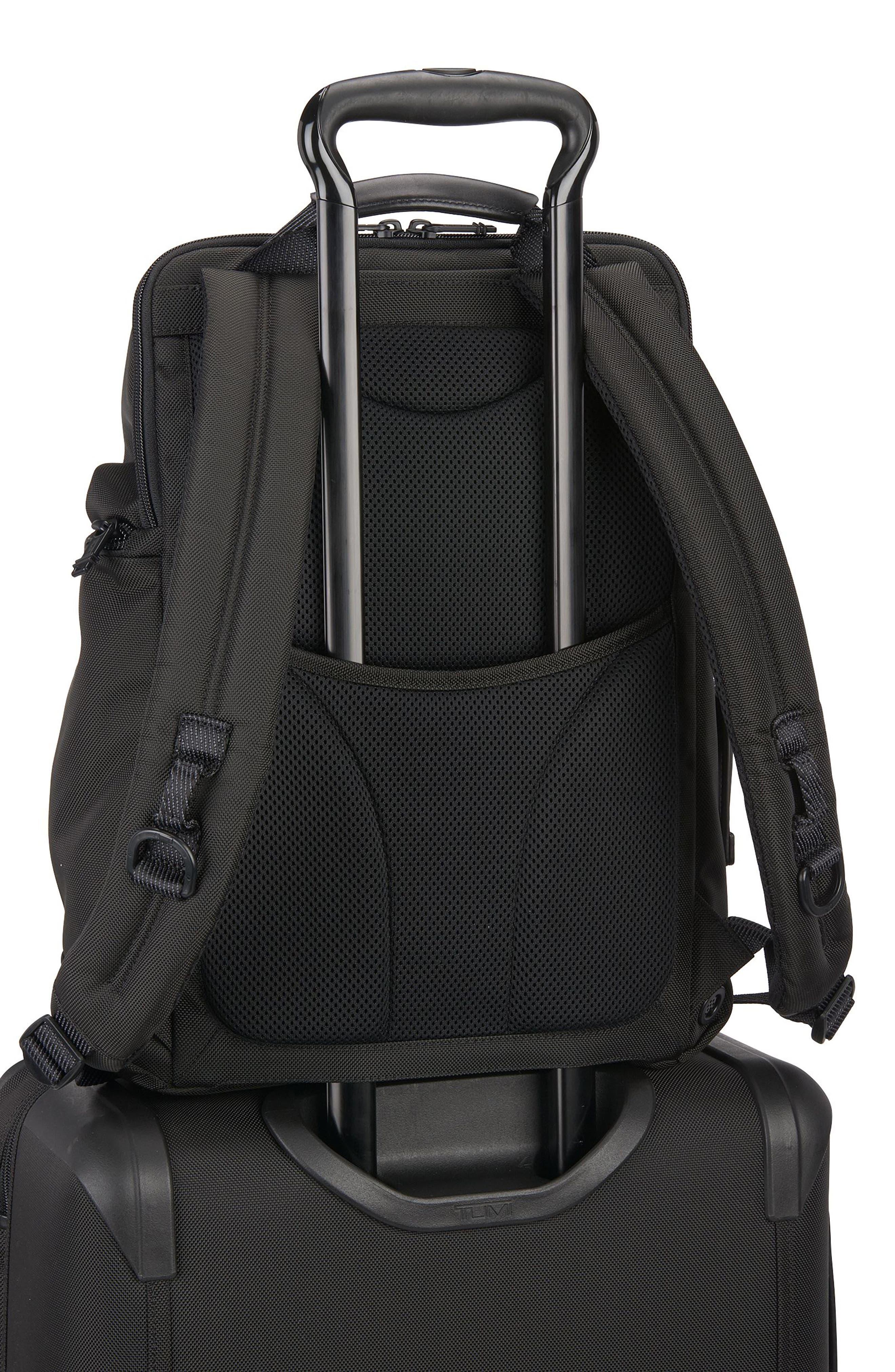 Alpha Bravo - Willow Backpack,                             Alternate thumbnail 6, color,                             Black