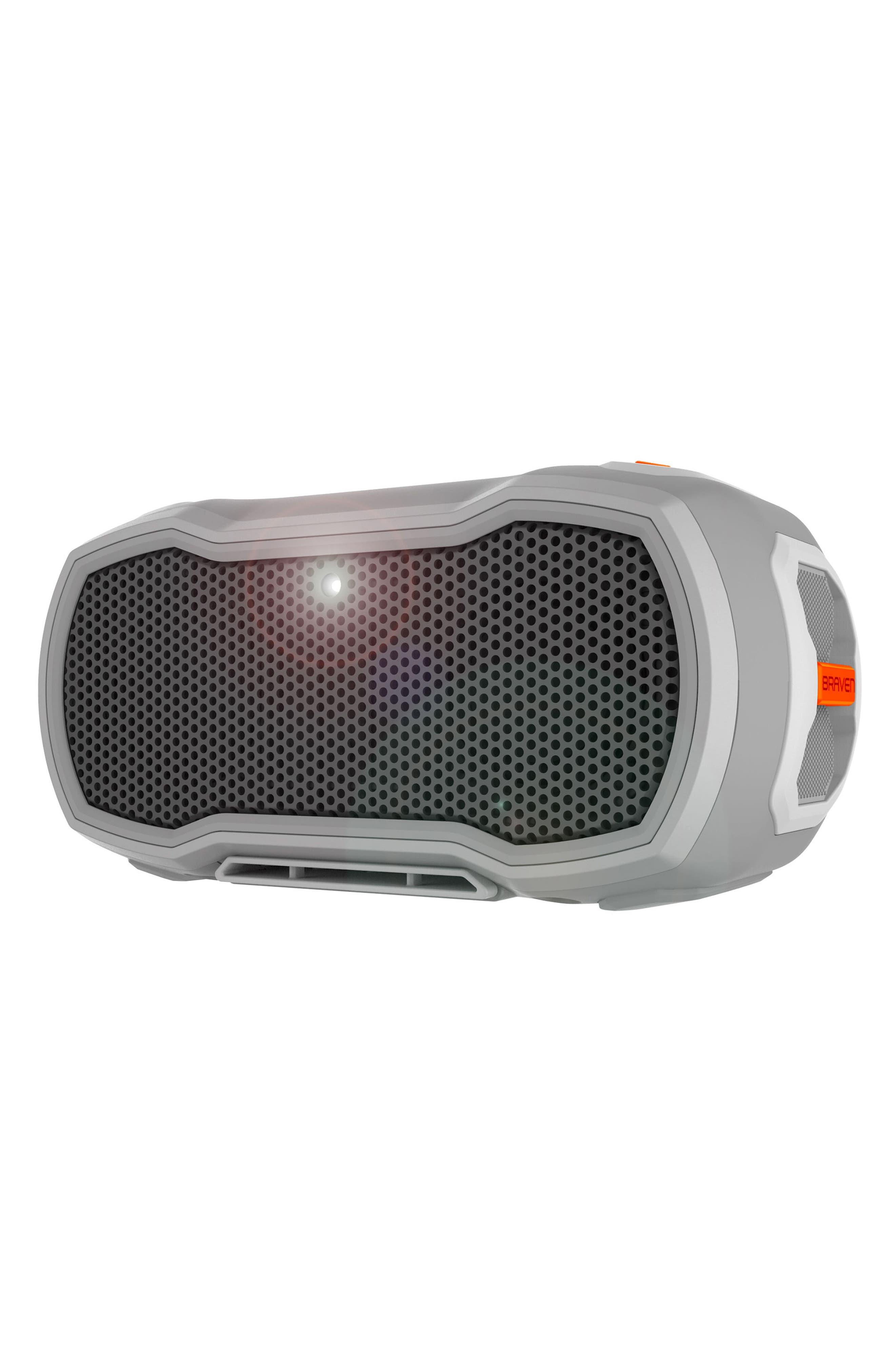 Ready Pro Bluetooth<sup>®</sup> Speaker,                             Alternate thumbnail 2, color,                             Grey/ Orange