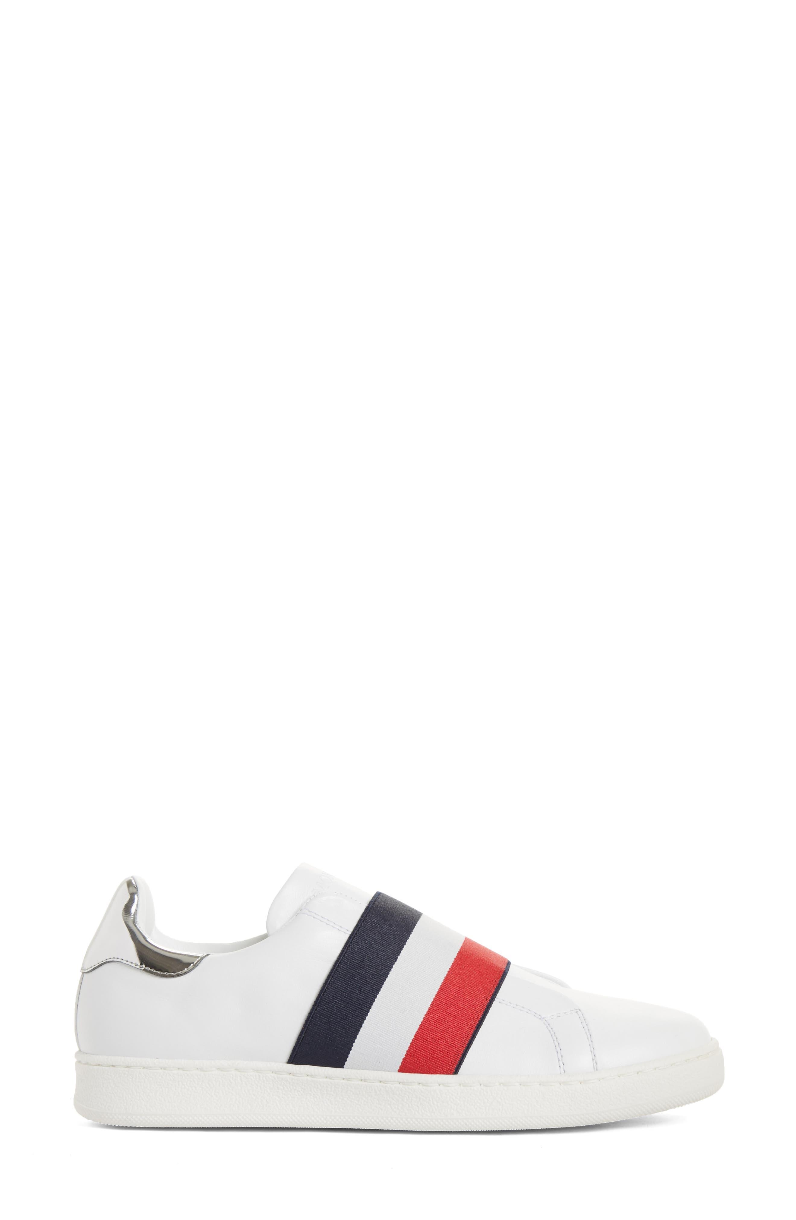Alizee Low Top Sneaker,                             Alternate thumbnail 3, color,                             White