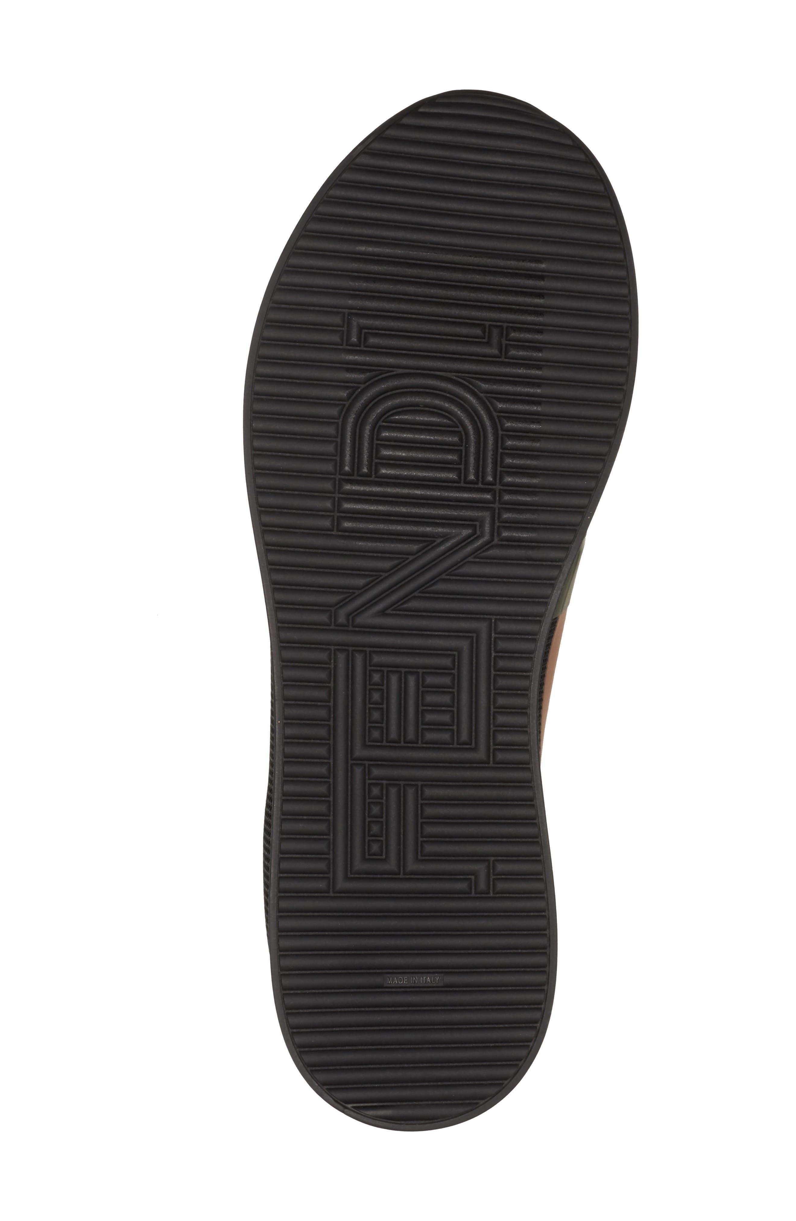Slip-On Sneaker,                             Alternate thumbnail 5, color,                             Black/ Beige